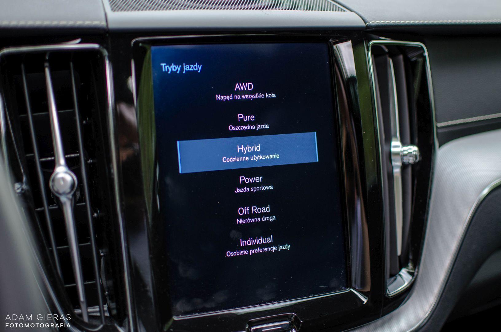 xc60 t8 15 Test: Volvo XC60 T8 R Design   czy taka hybryda w ogóle ma sens?