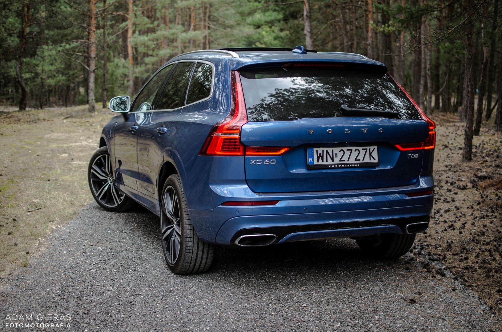 xc60 t8 16 Test: Volvo XC60 T8 R Design   czy taka hybryda w ogóle ma sens?