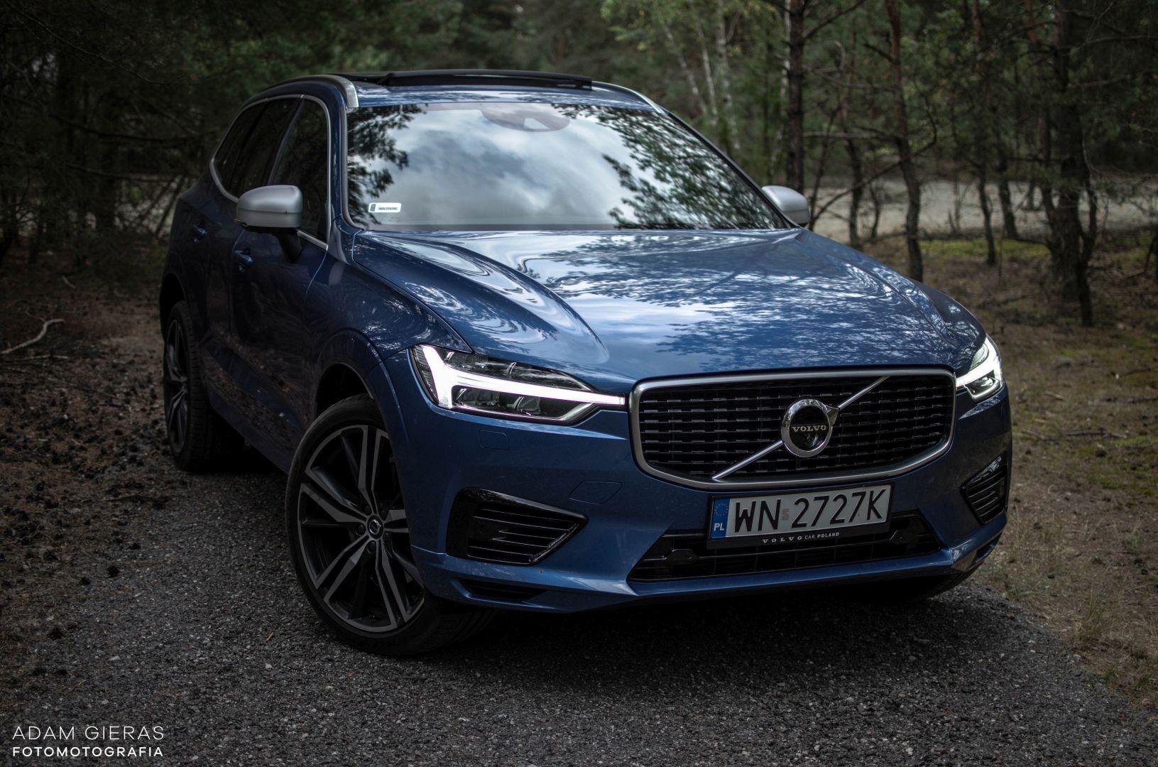 xc60 t8 17 Test: Volvo XC60 T8 R Design   czy taka hybryda w ogóle ma sens?