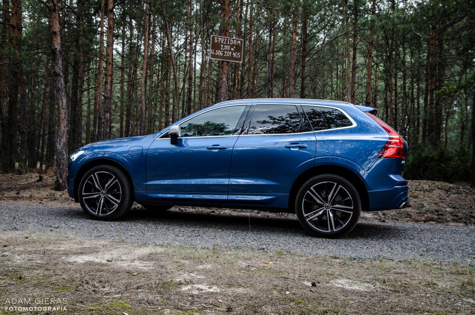 xc60 t8 20 Test: Volvo XC60 T8 R Design   czy taka hybryda w ogóle ma sens?