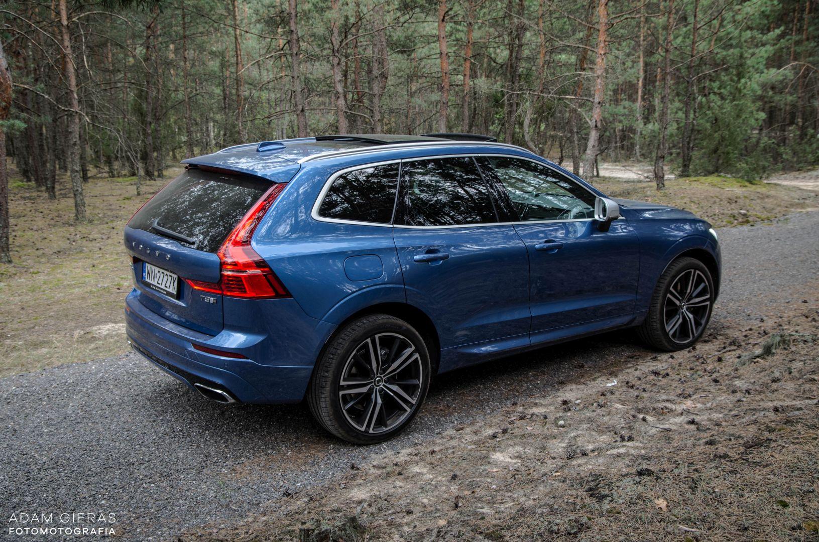 xc60 t8 21 Test: Volvo XC60 T8 R Design   czy taka hybryda w ogóle ma sens?