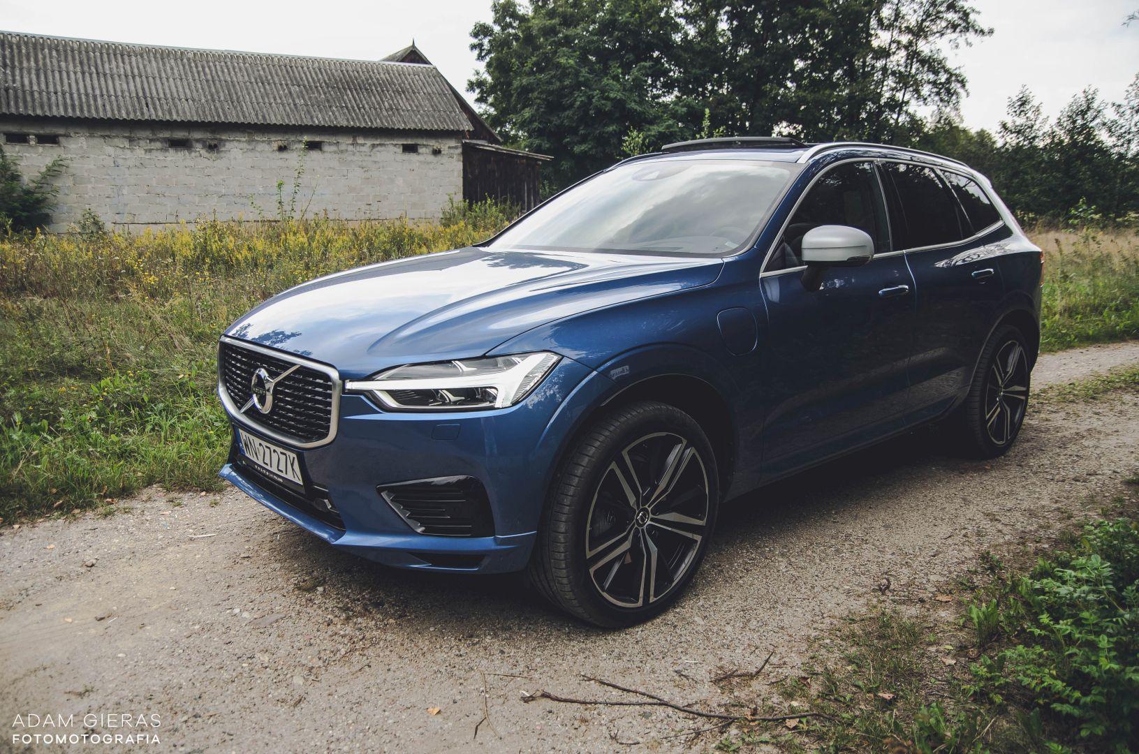 xc60 t8 27 Test: Volvo XC60 T8 R Design   czy taka hybryda w ogóle ma sens?