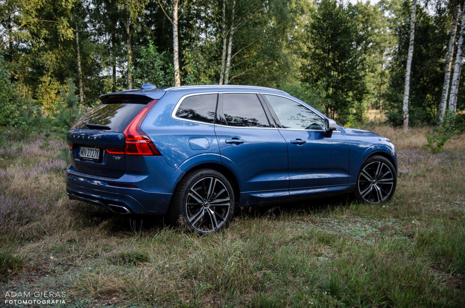 xc60 t8 28 Test: Volvo XC60 T8 R Design   czy taka hybryda w ogóle ma sens?