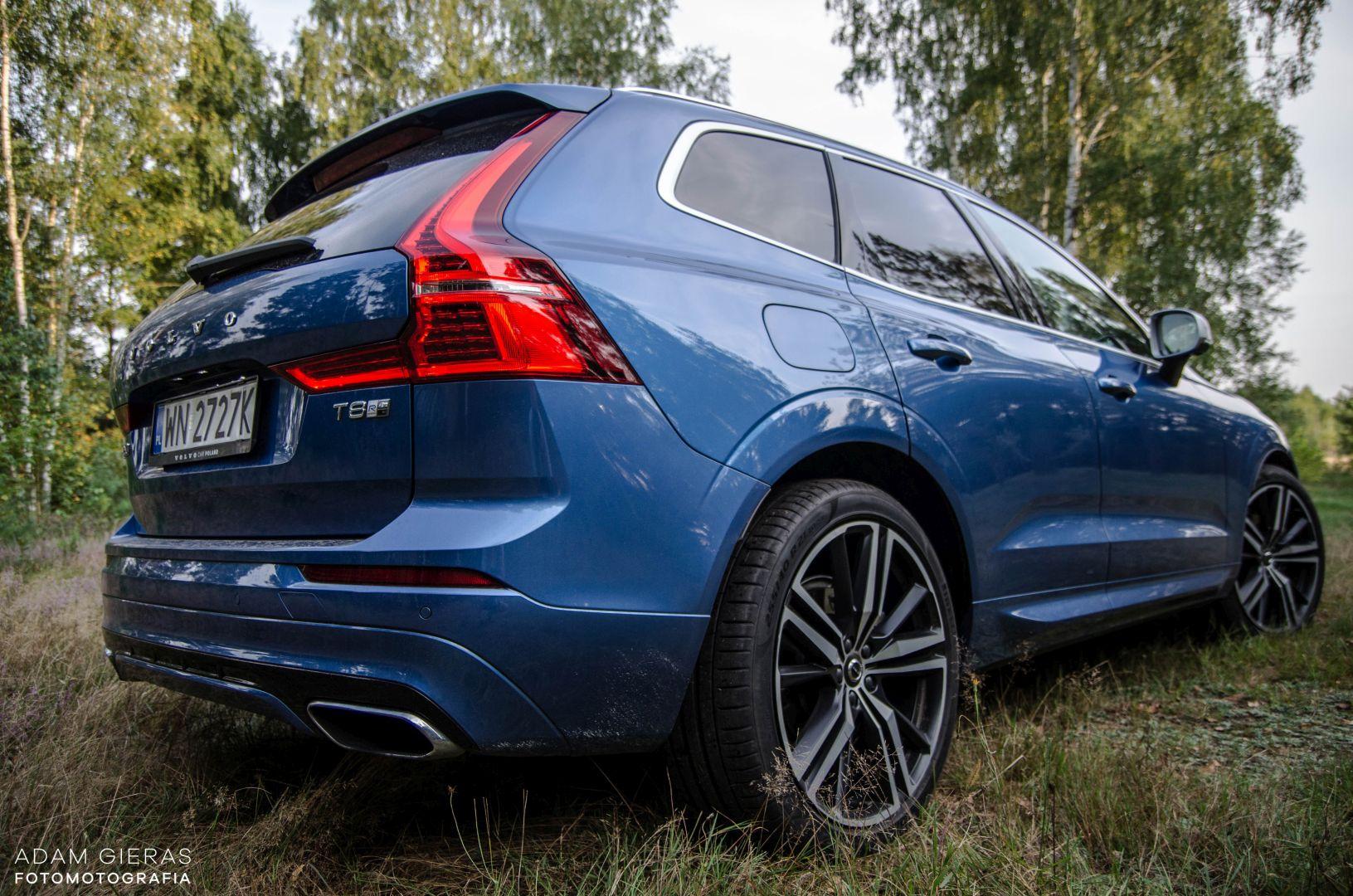 xc60 t8 29 Test: Volvo XC60 T8 R Design   czy taka hybryda w ogóle ma sens?