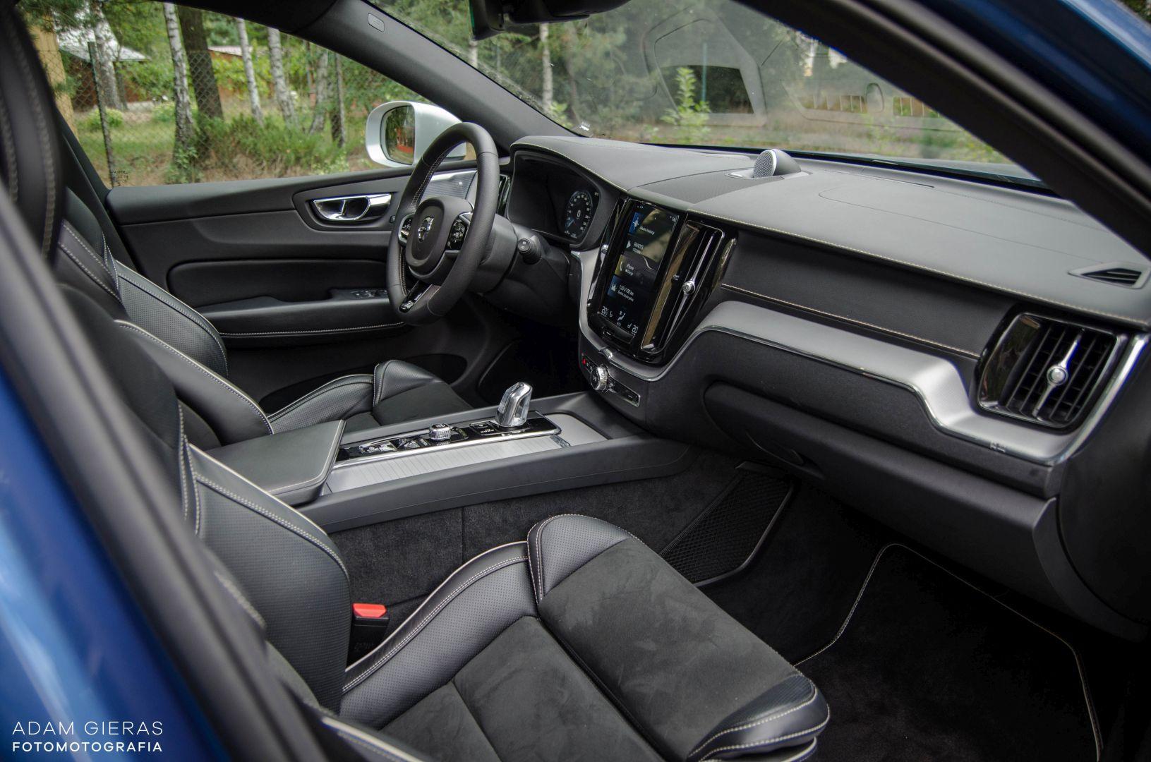 xc60 t8 7 Test: Volvo XC60 T8 R Design   czy taka hybryda w ogóle ma sens?