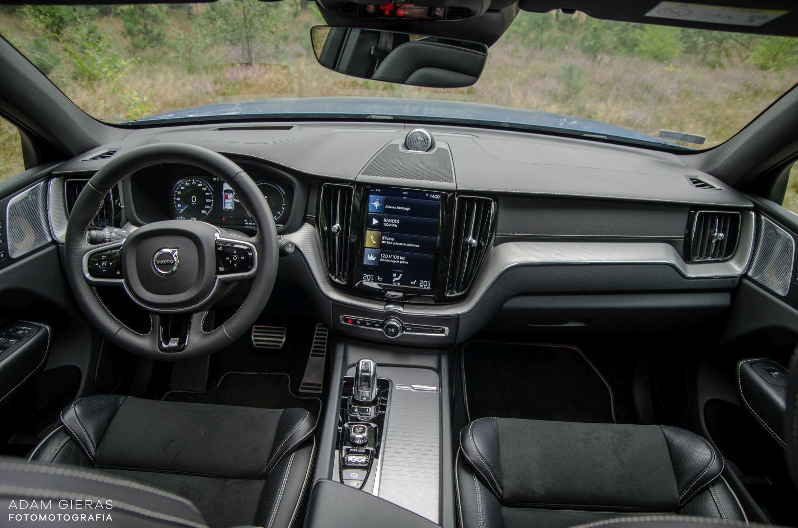 xc60 t8 8 Test: Volvo XC60 T8 R Design   czy taka hybryda w ogóle ma sens?