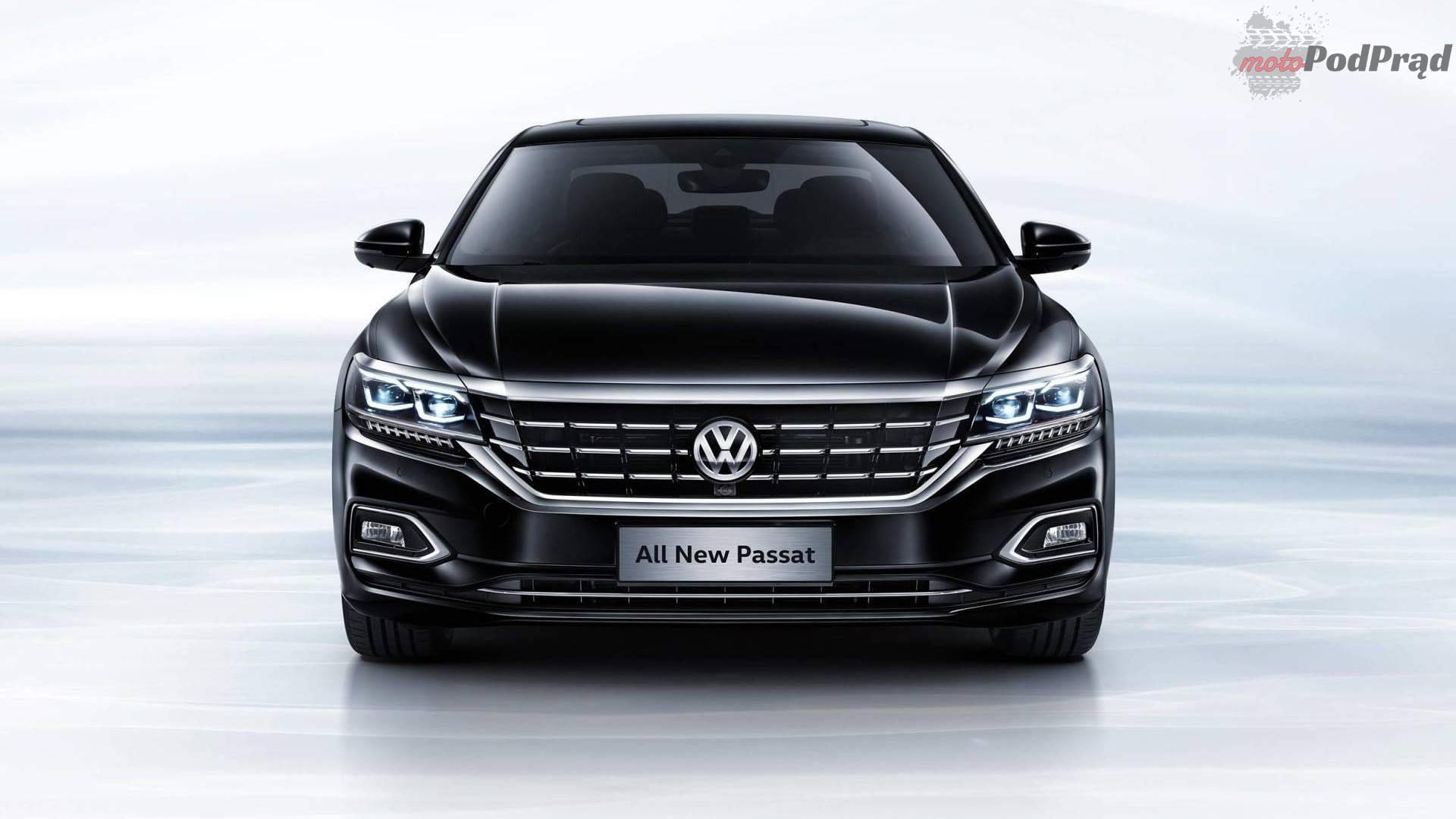 2018 volkswagen passat chinese spec 3 Nowy Passat, ale tylko dla Chin
