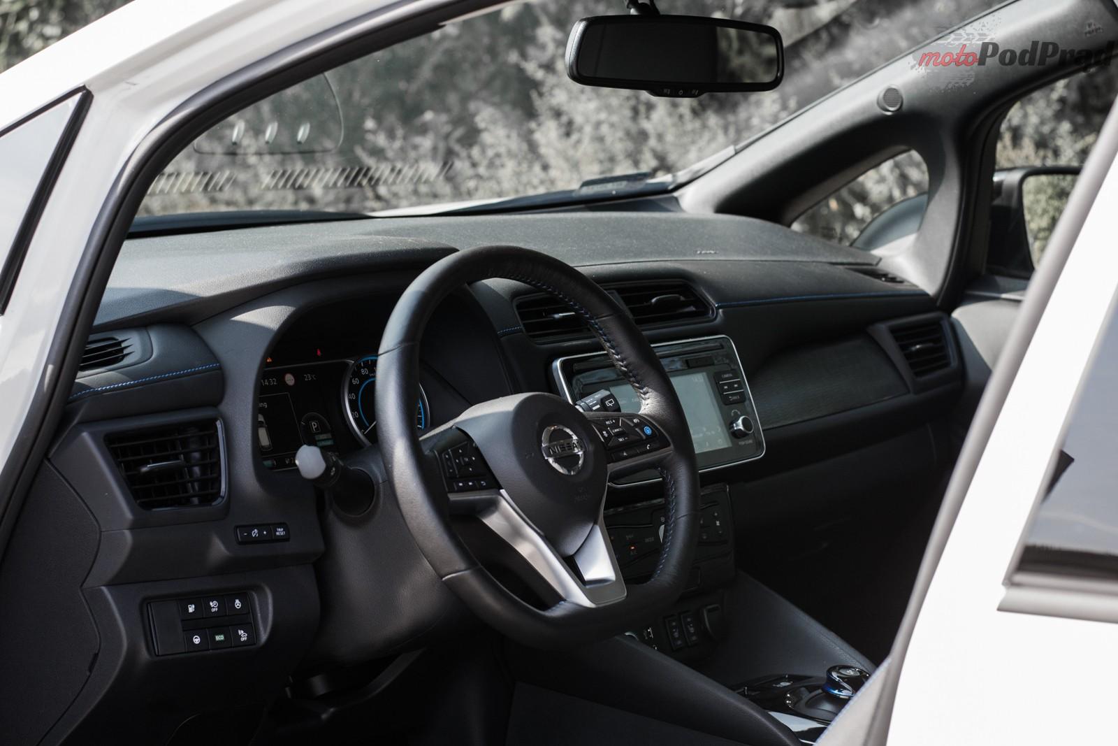DSC 0570 Test: Nissan Leaf Tekna   po prostu samochód. Tyle, że elektryczny…