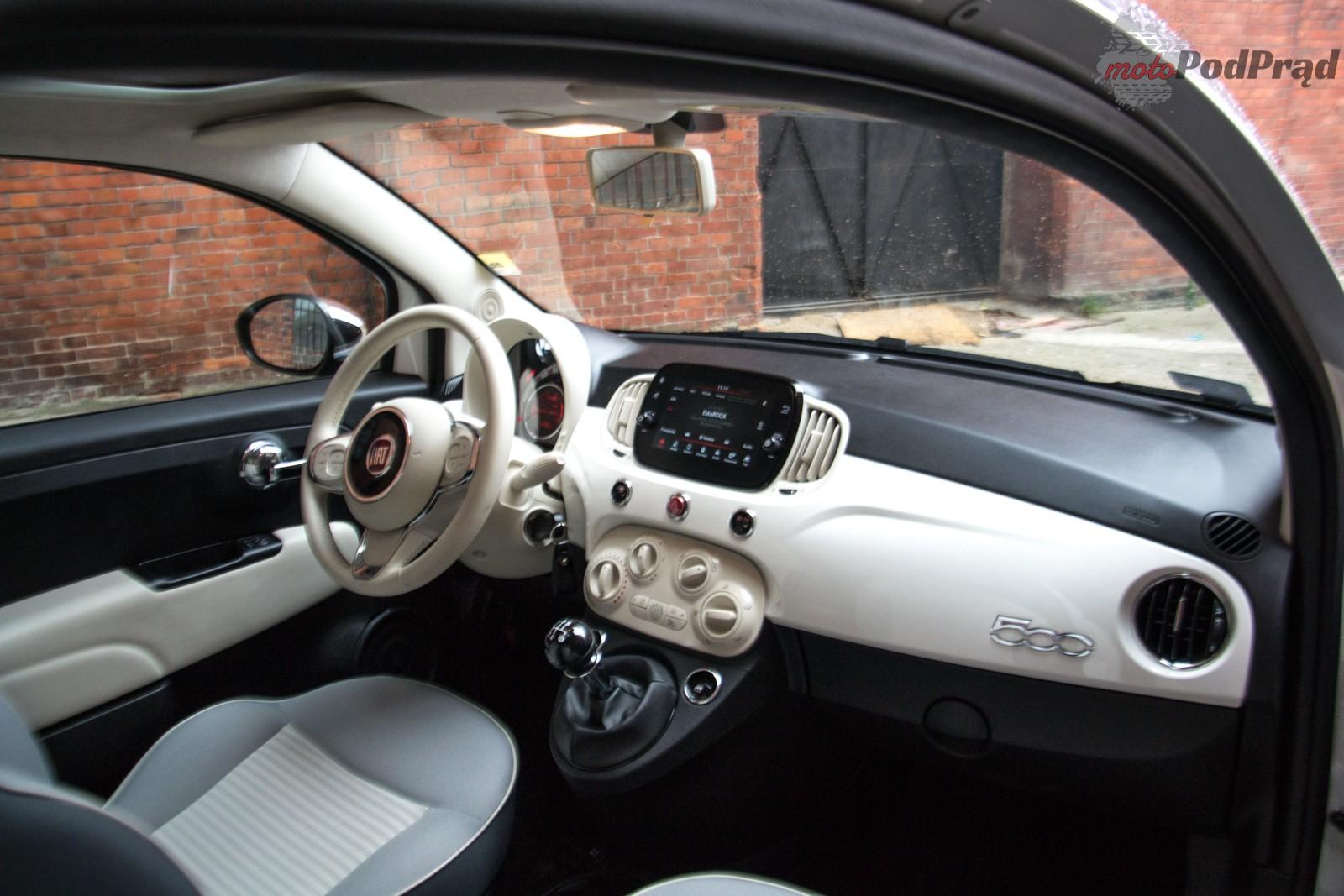 DSC 0655 Test: Fiat 500 Collezione   to są właśnie te detale