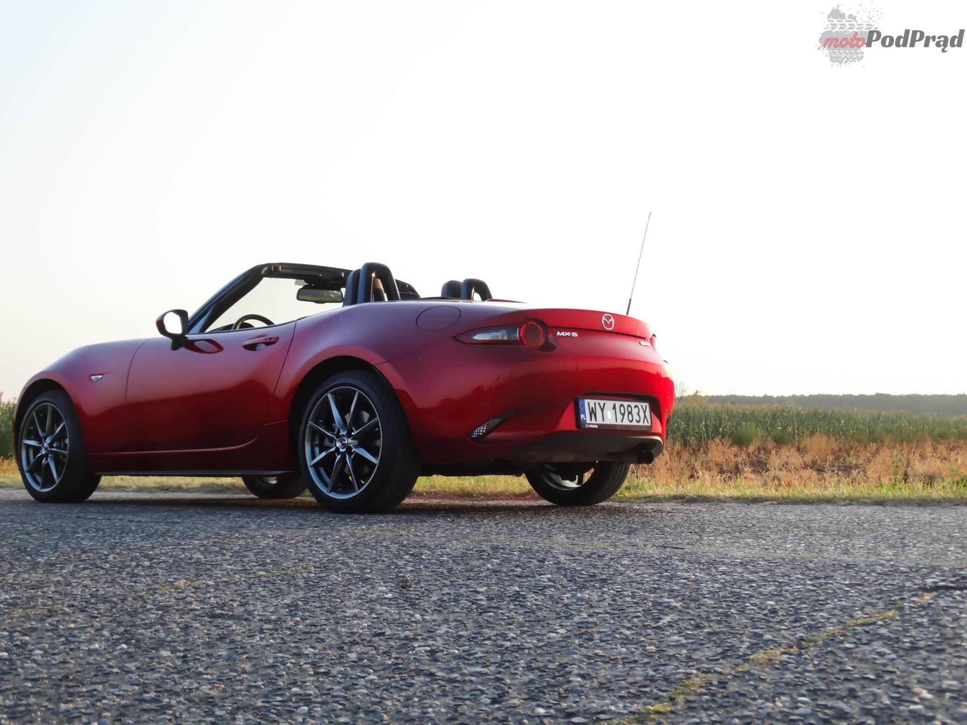 Mazda MX 5 13 Test: Mazda MX 5 SkyFreedom   sama radość