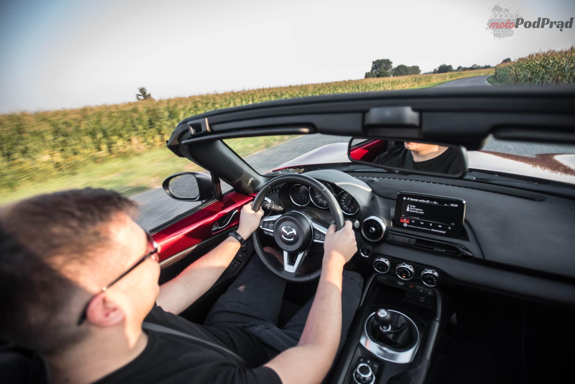 Mazda MX 5 20 Test: Mazda MX 5 SkyFreedom   sama radość