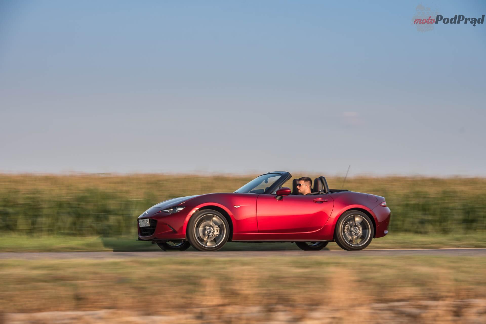 Mazda MX 5 21 Test: Mazda MX 5 SkyFreedom   sama radość