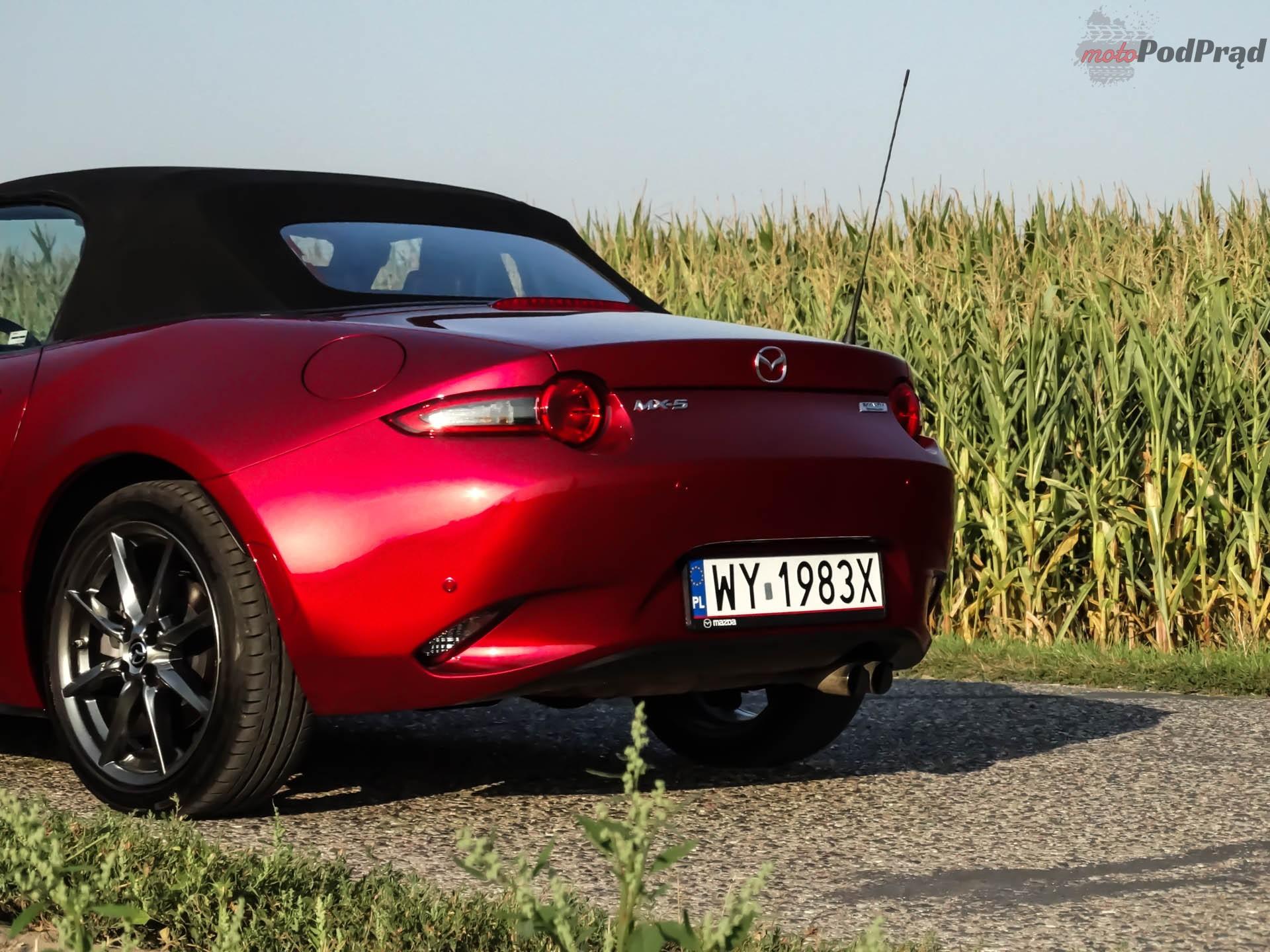Mazda MX 5 4 Test: Mazda MX 5 SkyFreedom   sama radość