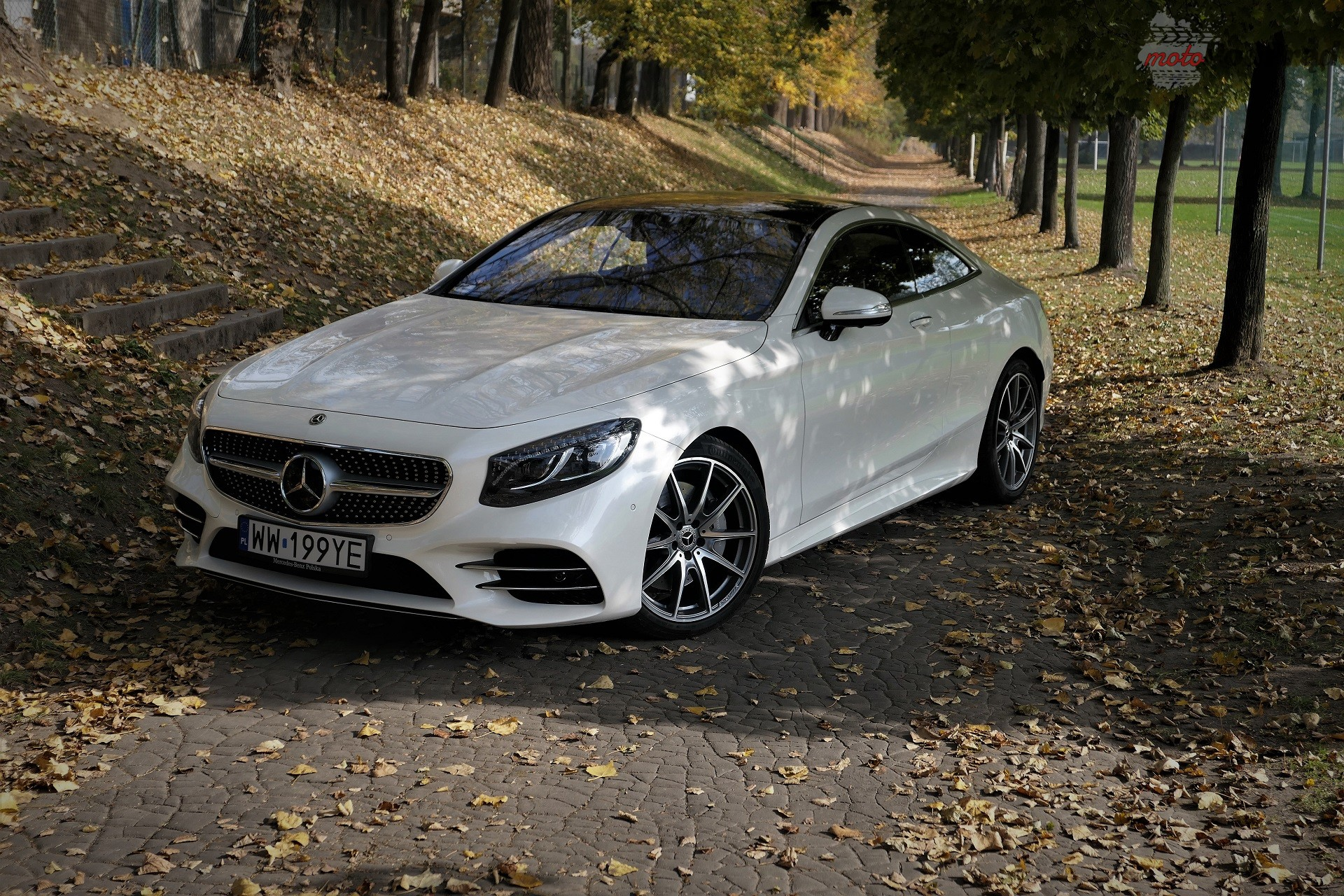 Mercedes s560 coupe 8 Test: Mercedes S560 Coupe   szał pał