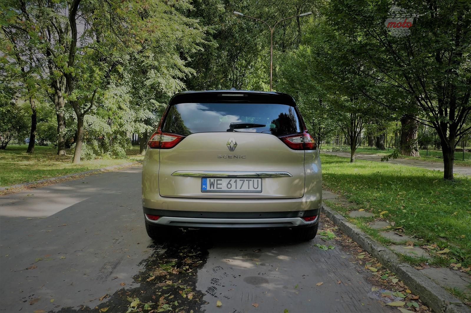 Renault Grand Scenic 12 Test: Renault Grand Scenic 1,3 tCe   wielki tylko ciałem