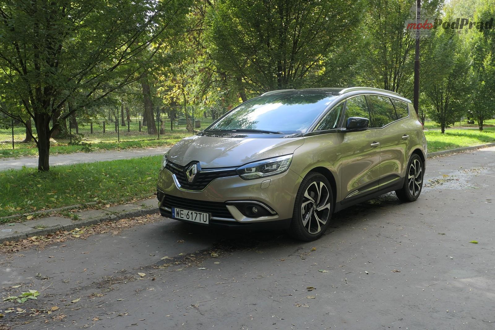 Renault Grand Scenic 14 Test: Renault Grand Scenic 1,3 tCe   wielki tylko ciałem