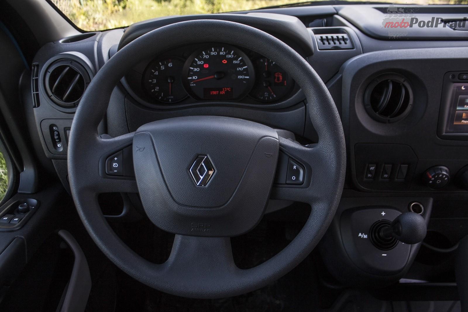 Renault Master 17 Test: Renault Master   mistrz nie jedno ma imię
