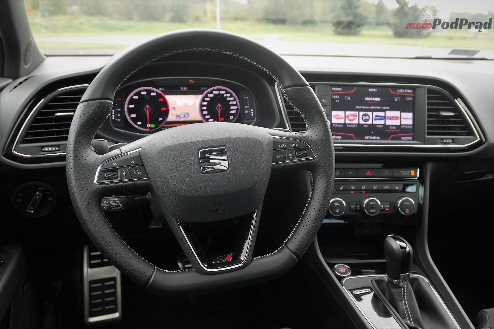 Seat Leon 17 Test: Seat Leon Cupra ST 300 KM   jeden z ostatnich