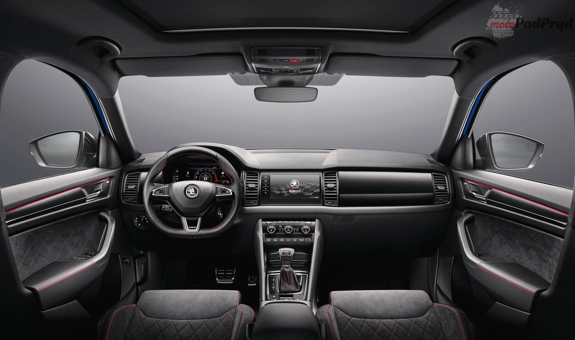 Skoda Kodiaq RS 3 Škoda Kodiaq RS w dieslu najmocniejszym SUV em marki.
