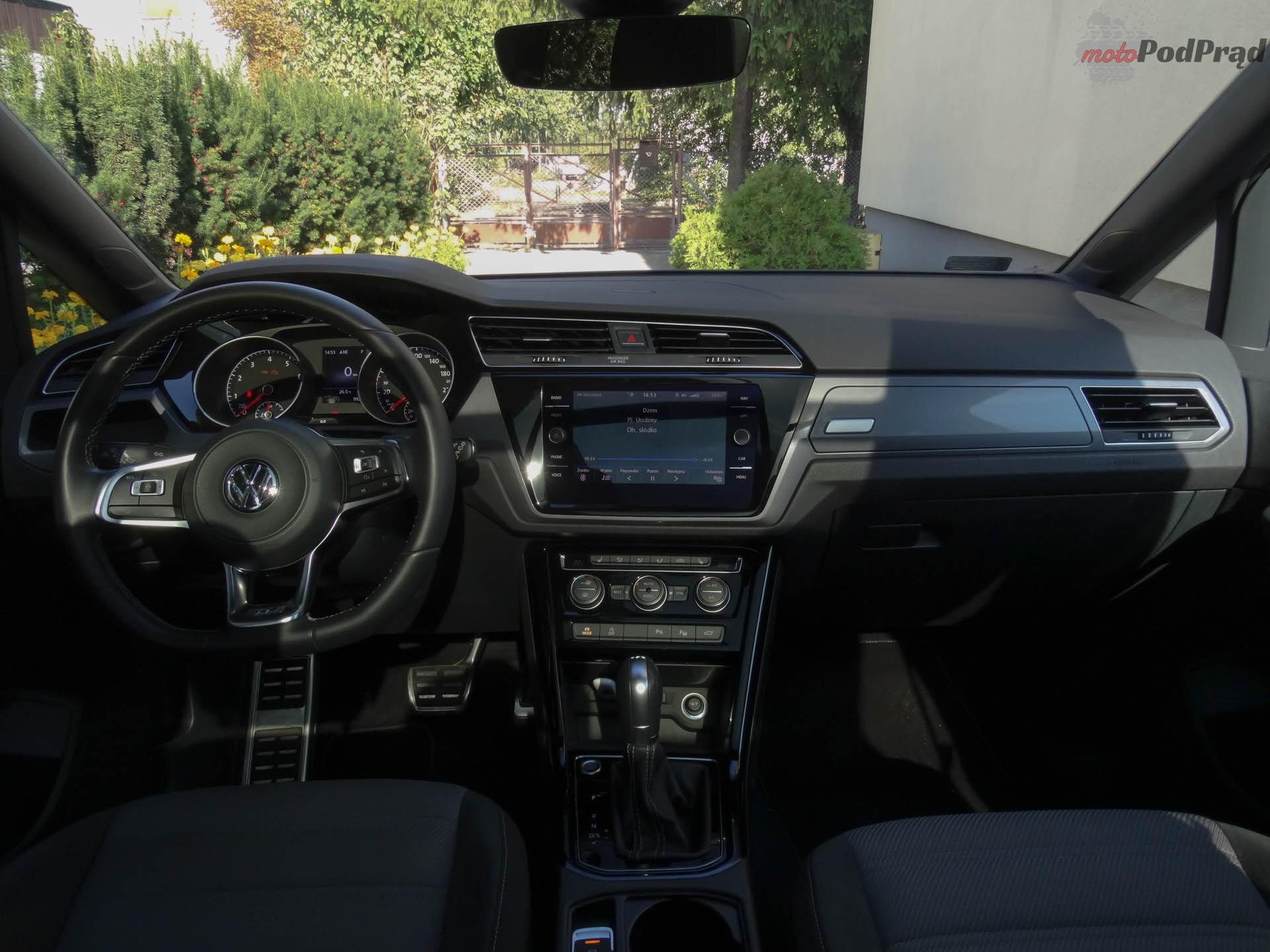 Volkswagen Touran 10 Test: Volkswagen Touran 1.8 TSI 180 KM   sportowy van