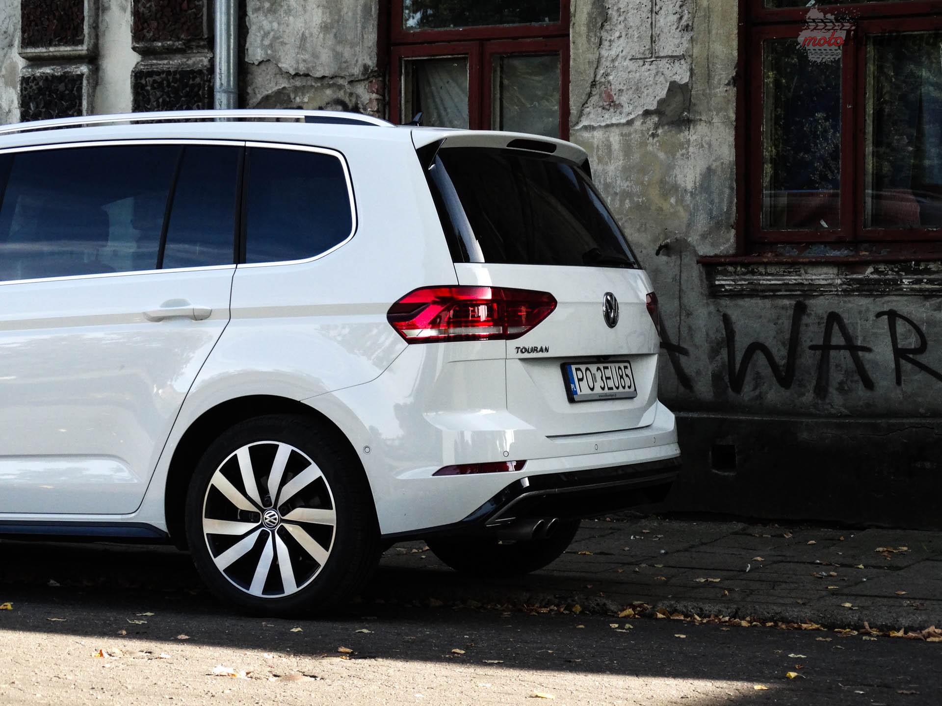 Volkswagen Touran 6 Test: Volkswagen Touran 1.8 TSI 180 KM   sportowy van