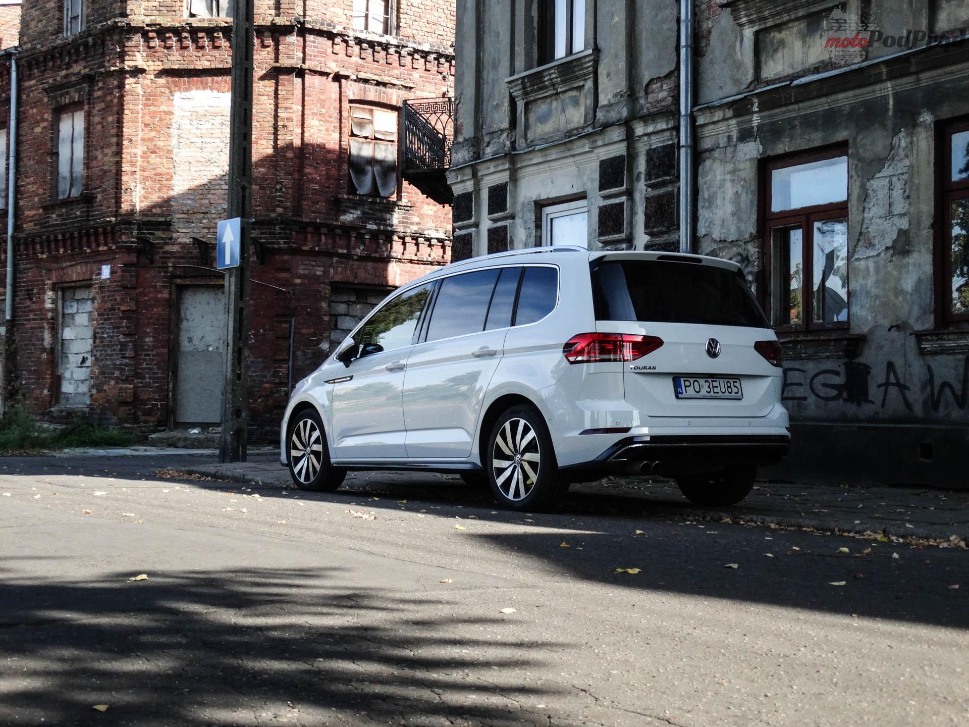 Volkswagen Touran 7 Test: Volkswagen Touran 1.8 TSI 180 KM   sportowy van