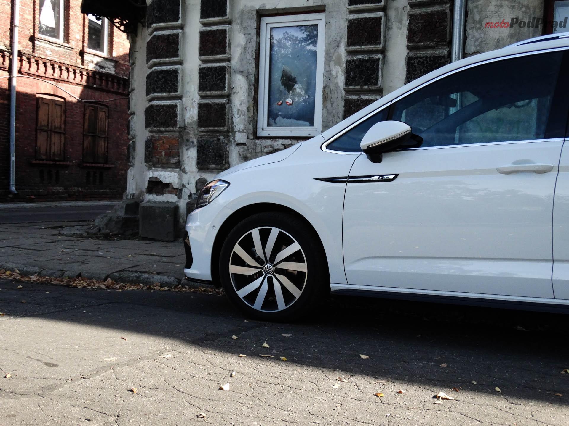 Volkswagen Touran 8 Test: Volkswagen Touran 1.8 TSI 180 KM   sportowy van
