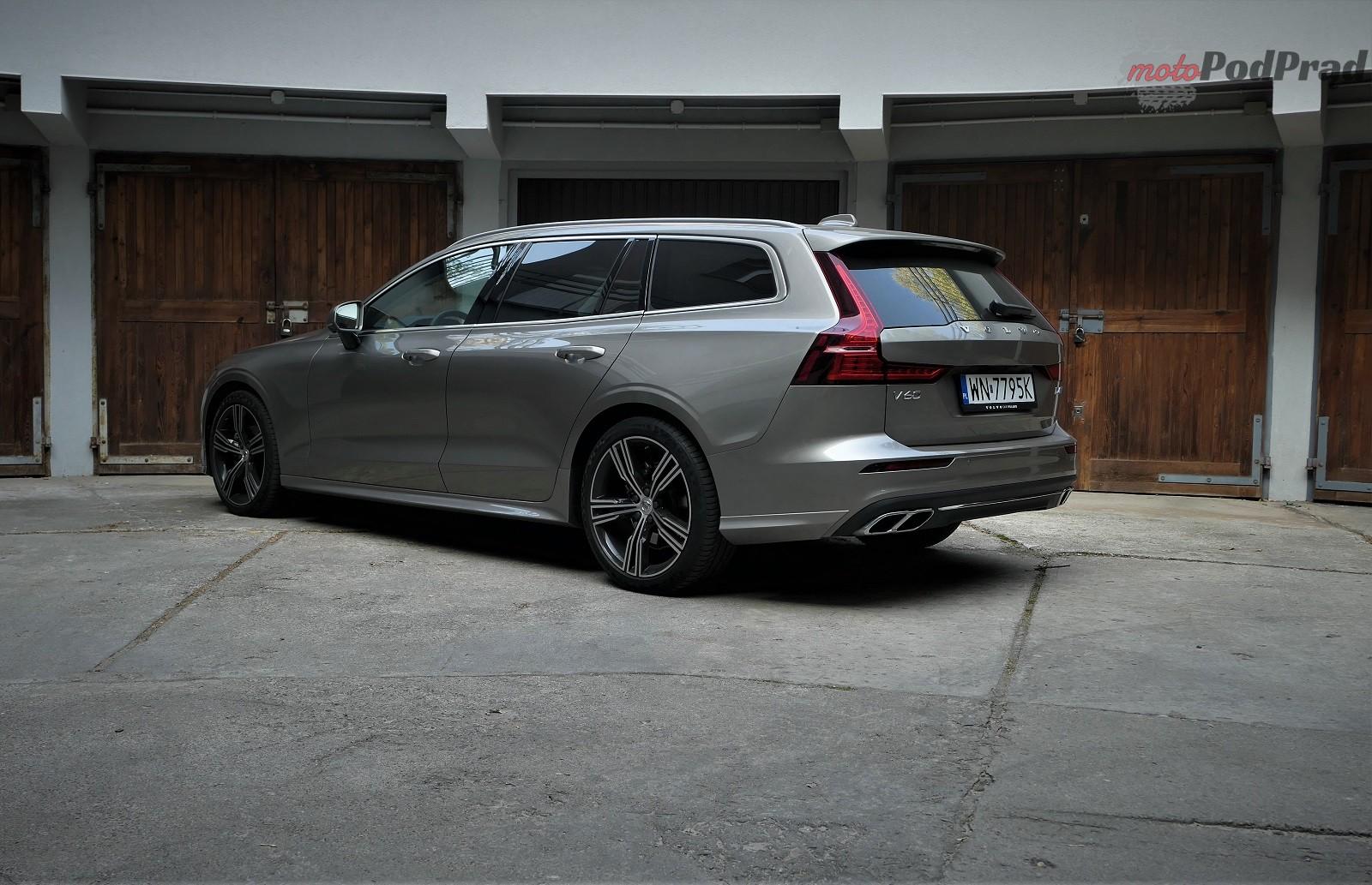 Volvo V60 1 Test: Volvo V60 D4   chłodno i elegancko