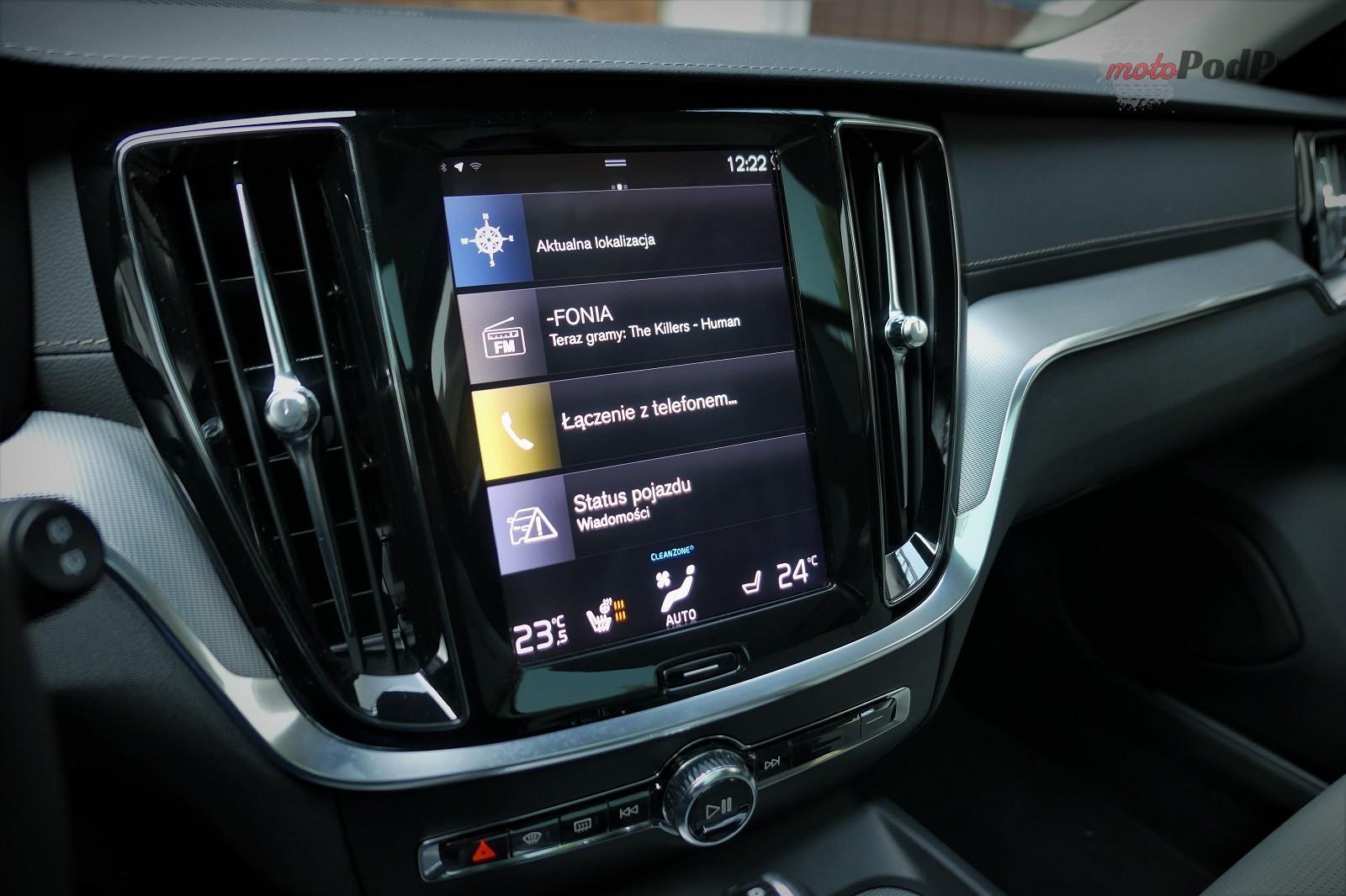 Volvo V60 14 Test: Volvo V60 D4   chłodno i elegancko