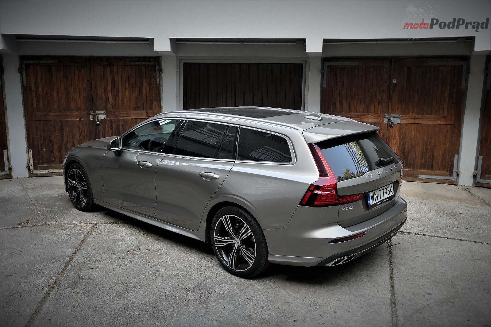 Volvo V60 2 Test: Volvo V60 D4   chłodno i elegancko