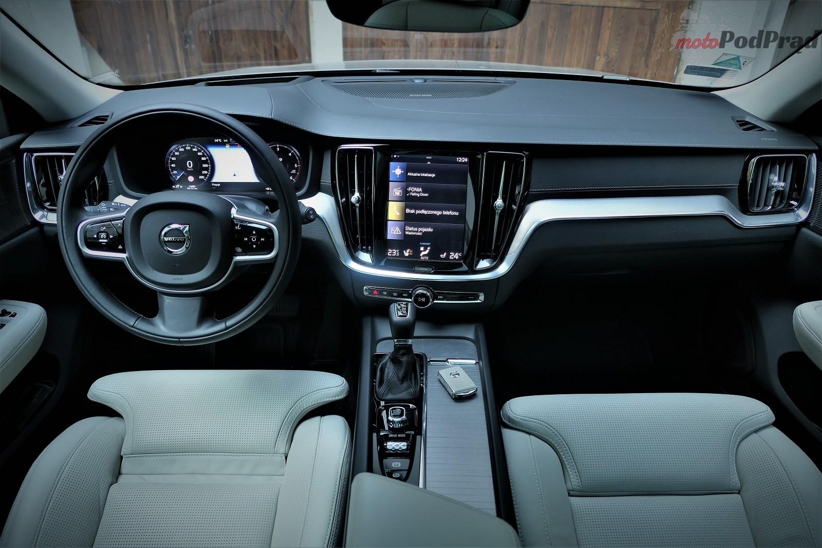 Volvo V60 21 Test: Volvo V60 D4   chłodno i elegancko