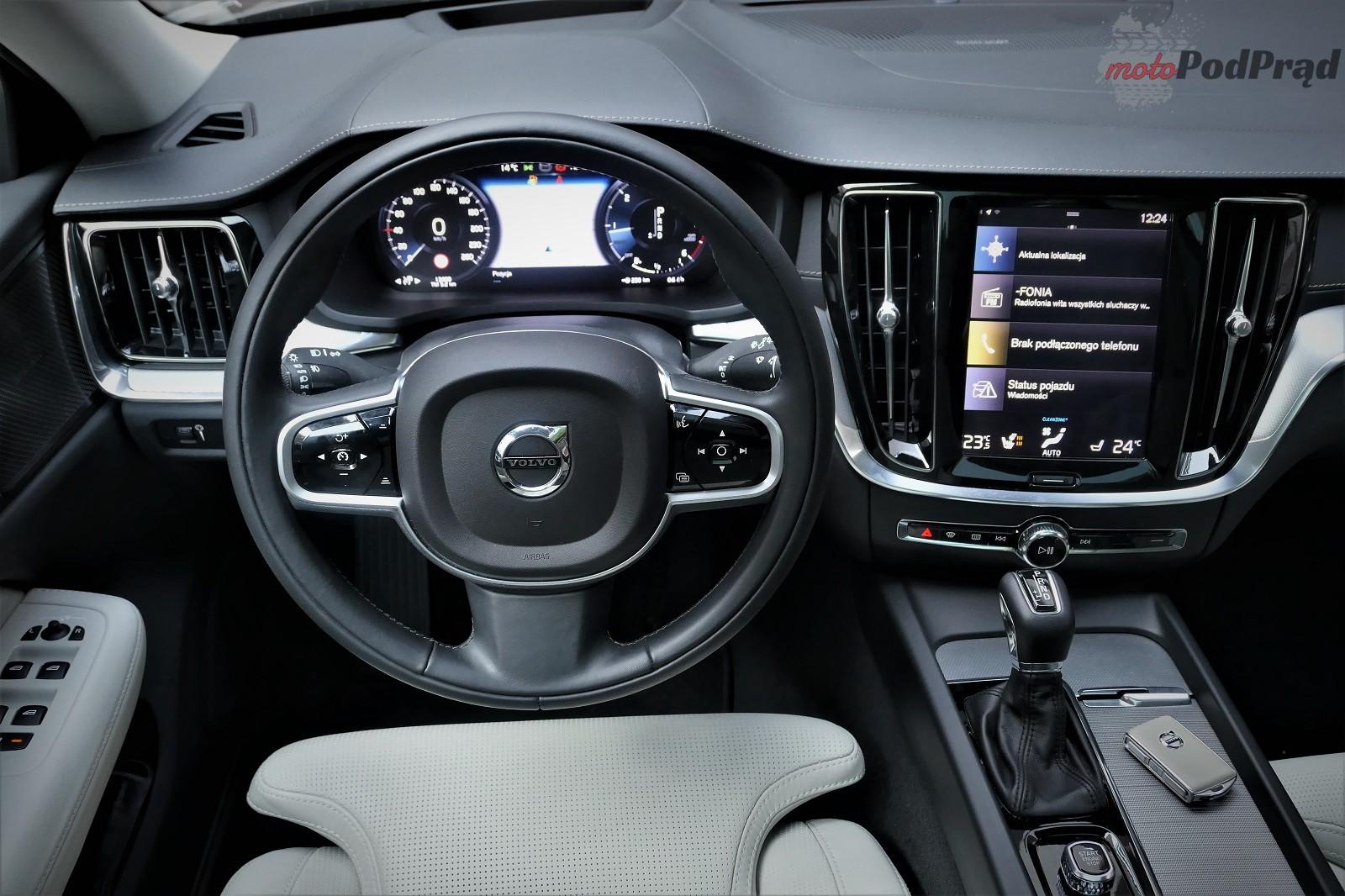 Volvo V60 22 Test: Volvo V60 D4   chłodno i elegancko