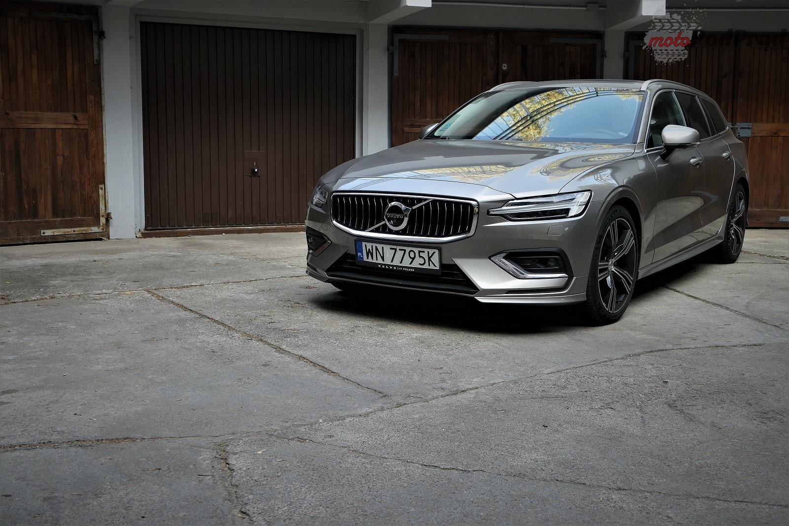 Volvo V60 31 Test: Volvo V60 D4   chłodno i elegancko
