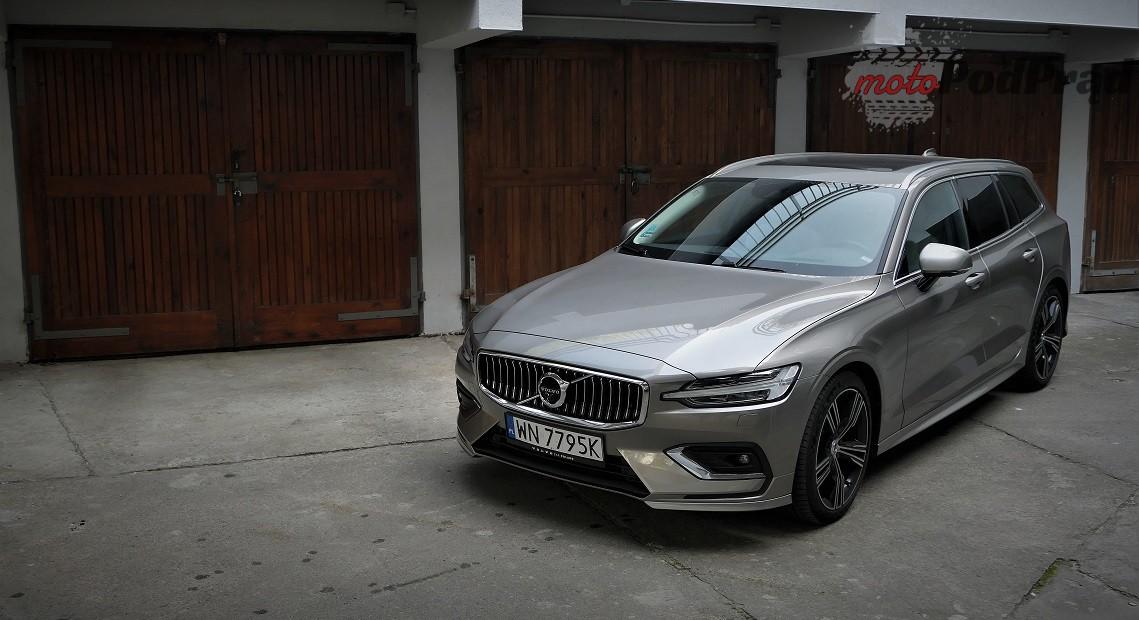 Volvo V60 37 Test: Volvo V60 D4   chłodno i elegancko