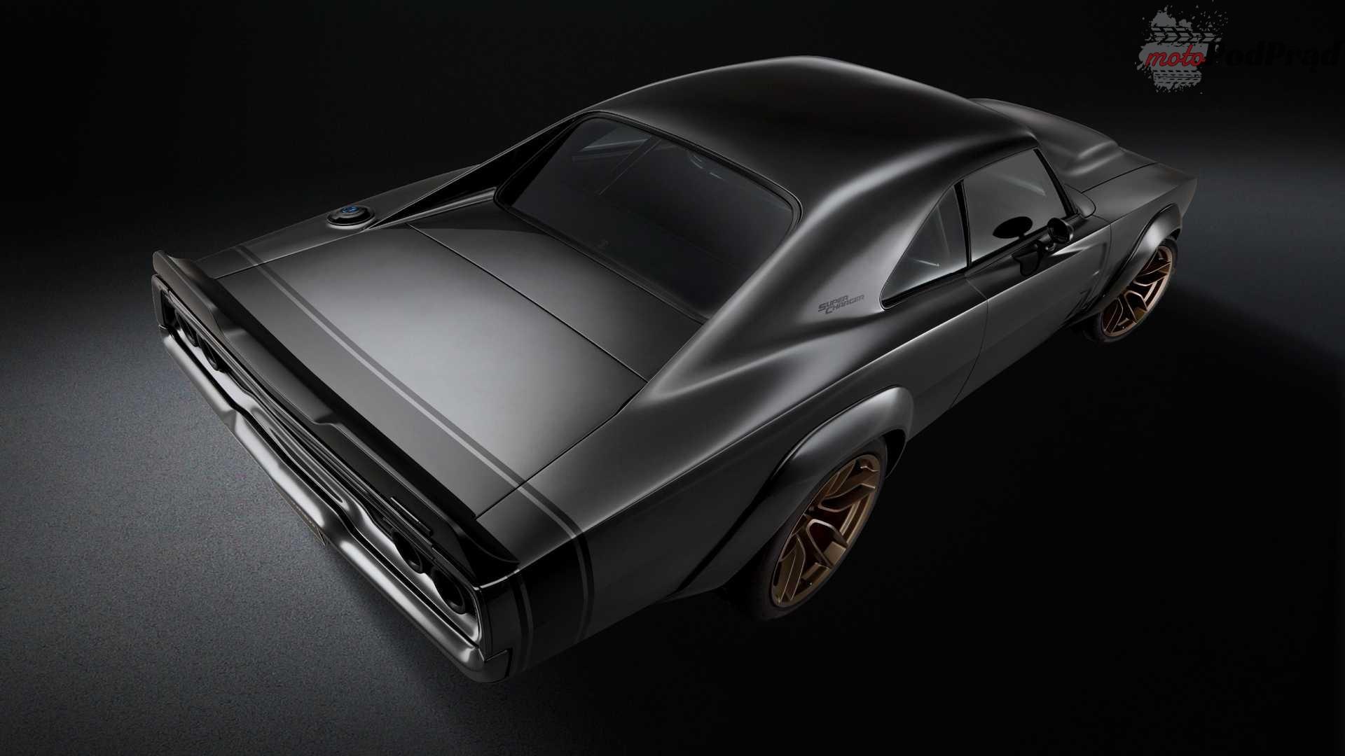 dodge super charger concept 1 1000 konny restomod Chargera to coś dla fanów muscle carów