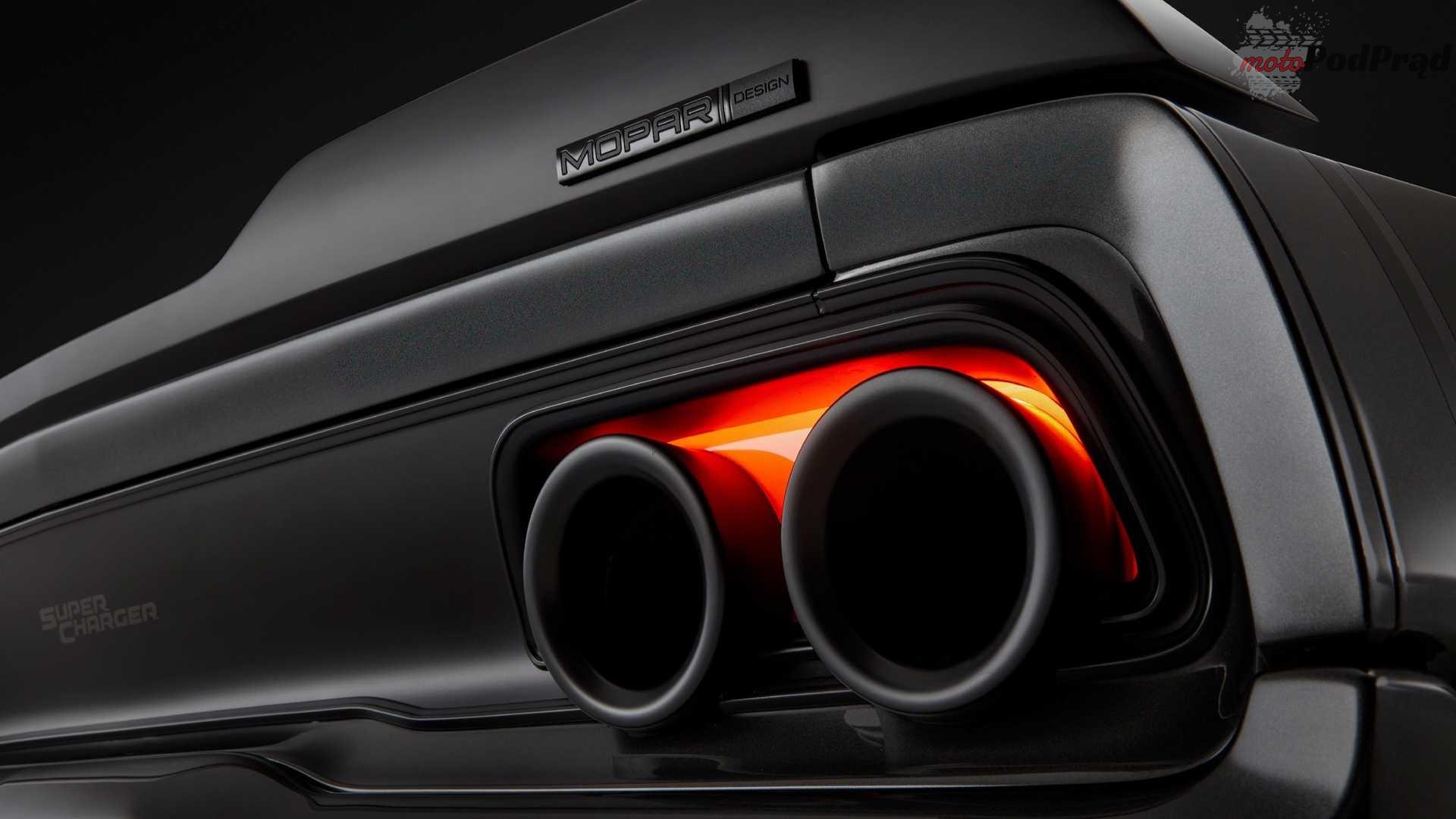 dodge super charger concept 4 1000 konny restomod Chargera to coś dla fanów muscle carów