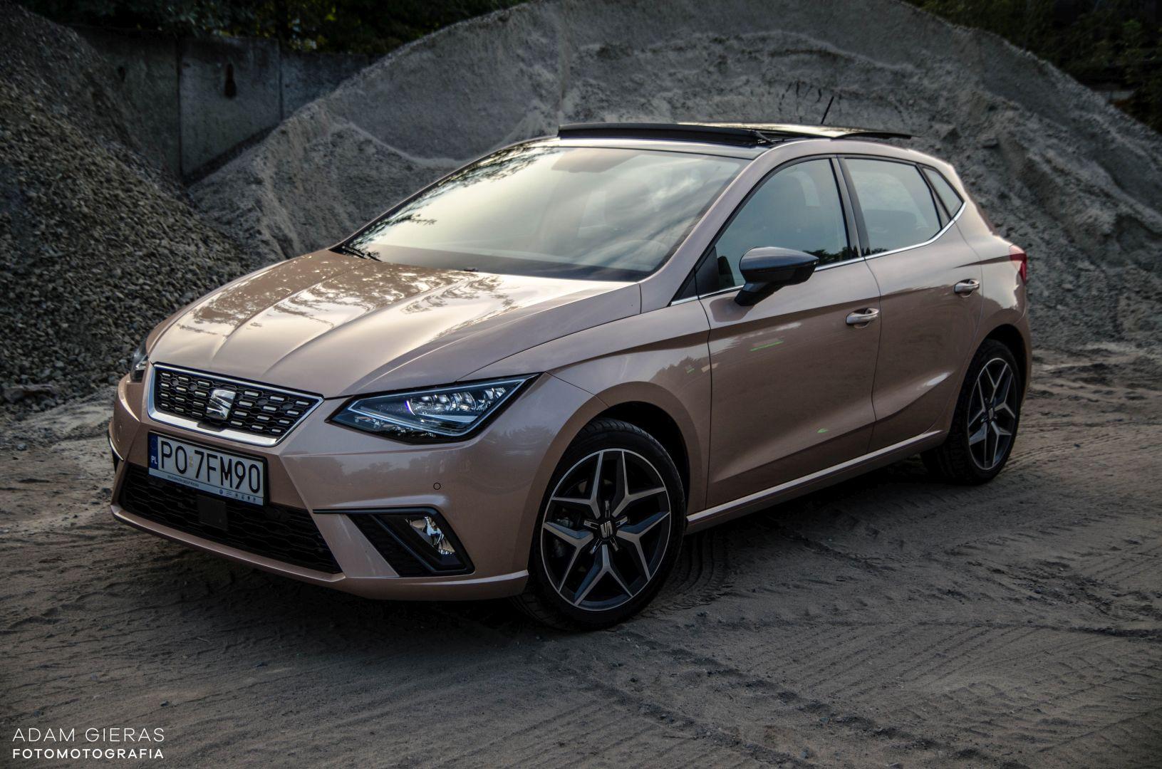 ibiza 1 Test: Seat Ibiza Xcellence 1.0 115 KM DSG   mniejszy Leon?