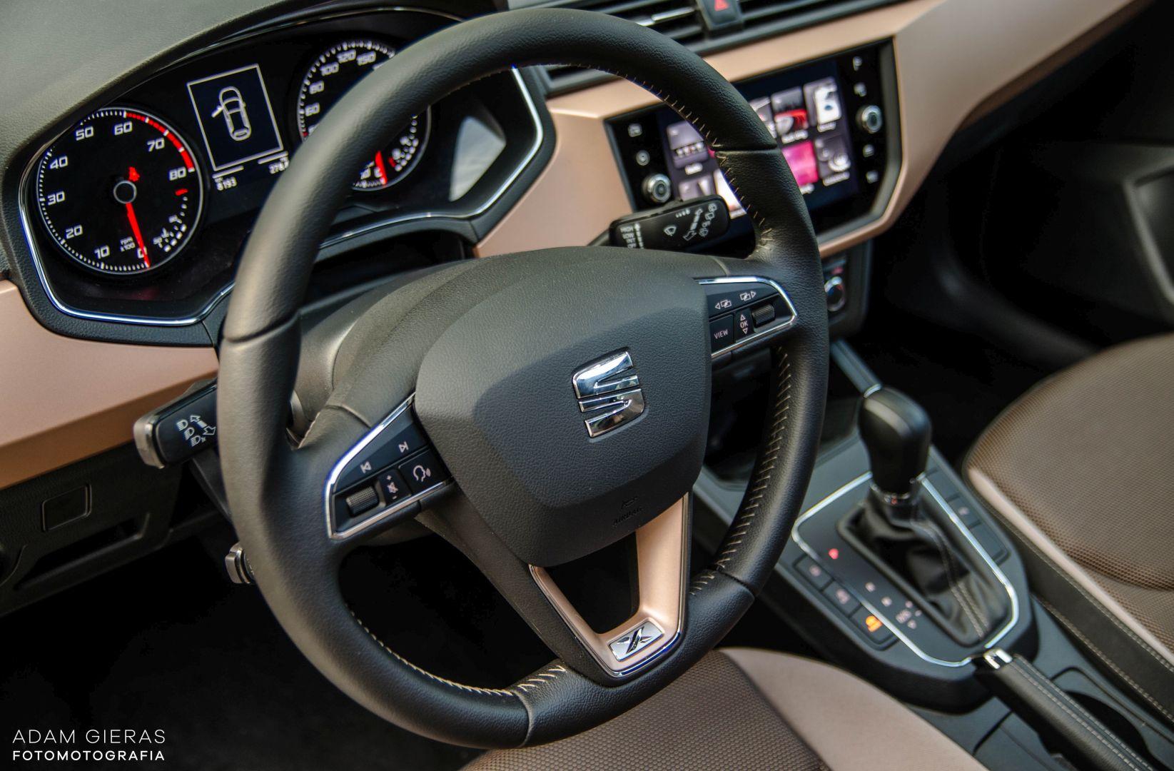 ibiza 17 Test: Seat Ibiza Xcellence 1.0 115 KM DSG   mniejszy Leon?