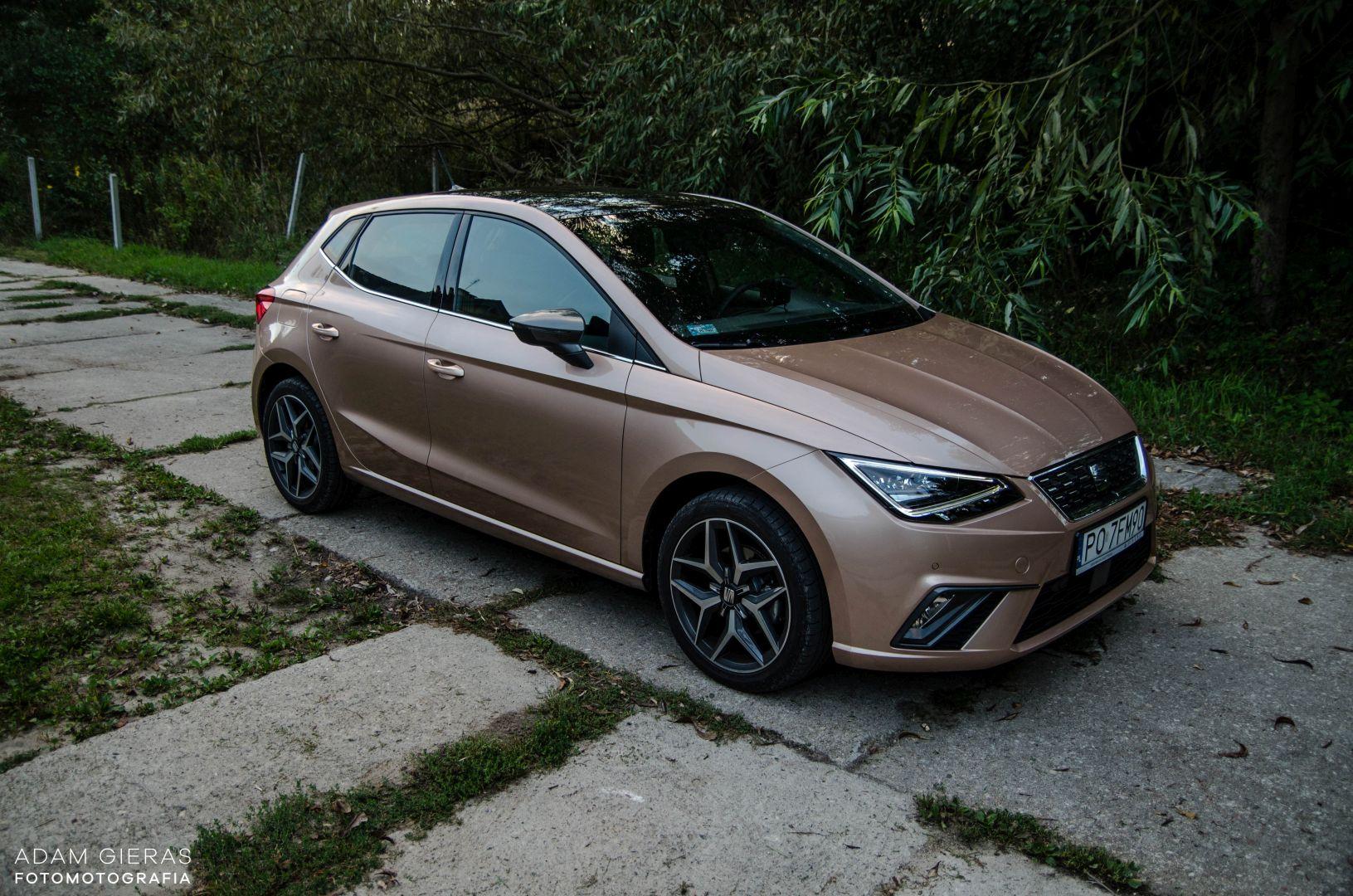 ibiza 21 Test: Seat Ibiza Xcellence 1.0 115 KM DSG   mniejszy Leon?