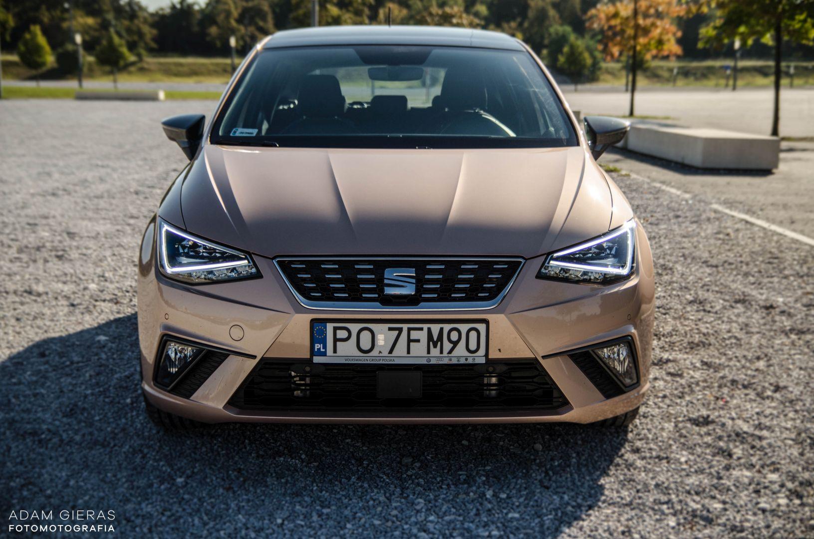 ibiza 23 Test: Seat Ibiza Xcellence 1.0 115 KM DSG   mniejszy Leon?