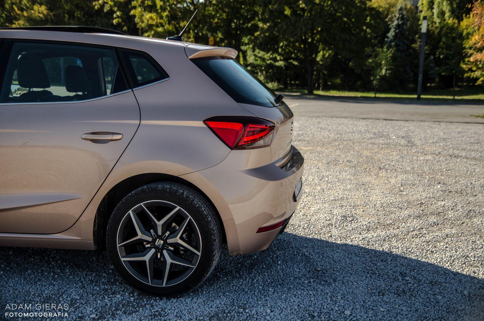 ibiza 24 Test: Seat Ibiza Xcellence 1.0 115 KM DSG   mniejszy Leon?