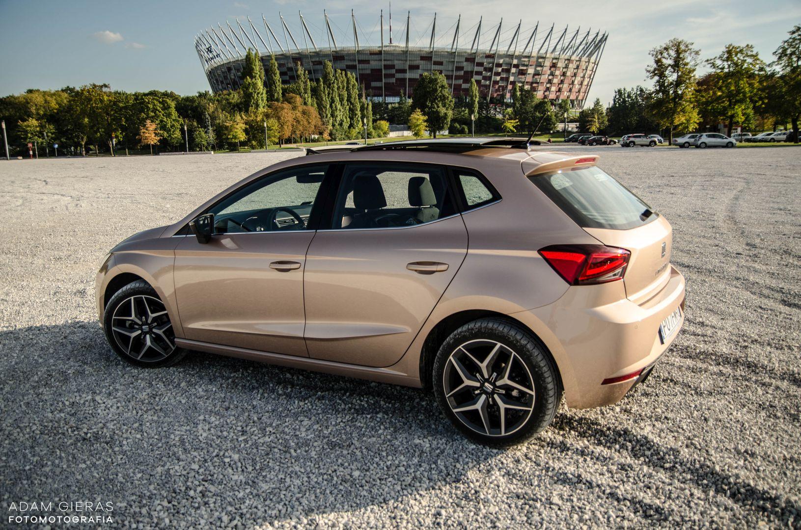 ibiza 27 Test: Seat Ibiza Xcellence 1.0 115 KM DSG   mniejszy Leon?