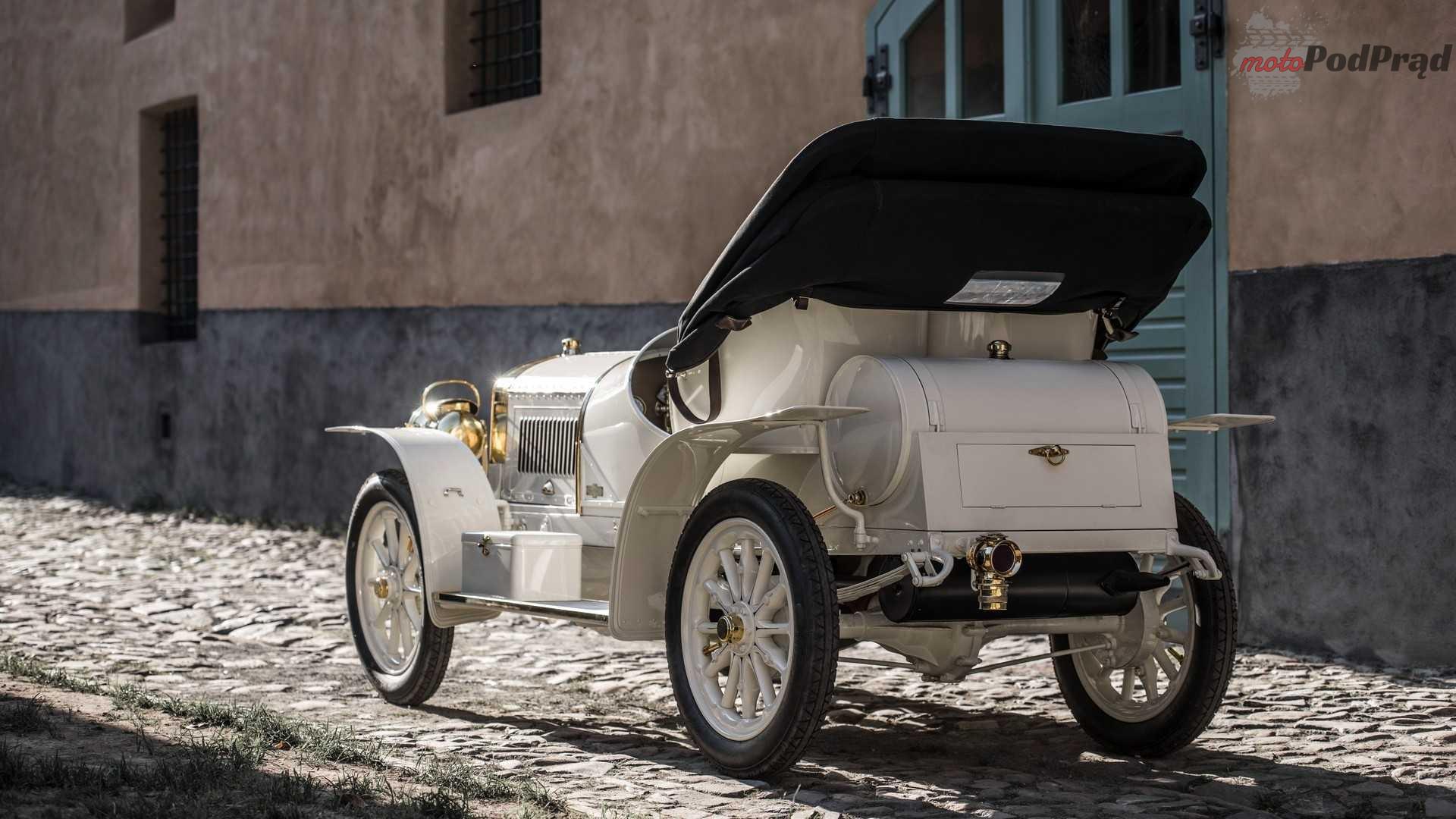 1907 laurin klement bsc 1 Skoda sięga do korzeni