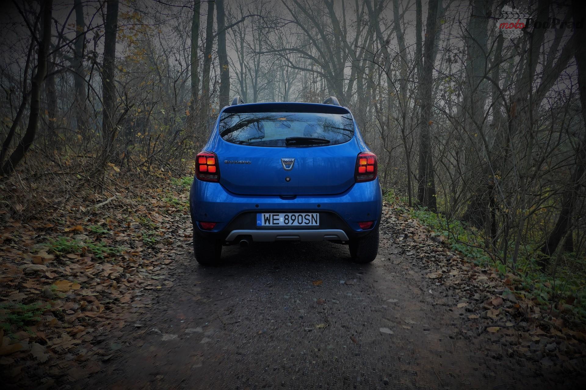 Dacia Sandero Stepway 1 Test: Dacia Sandero Stepway   w prostocie siła