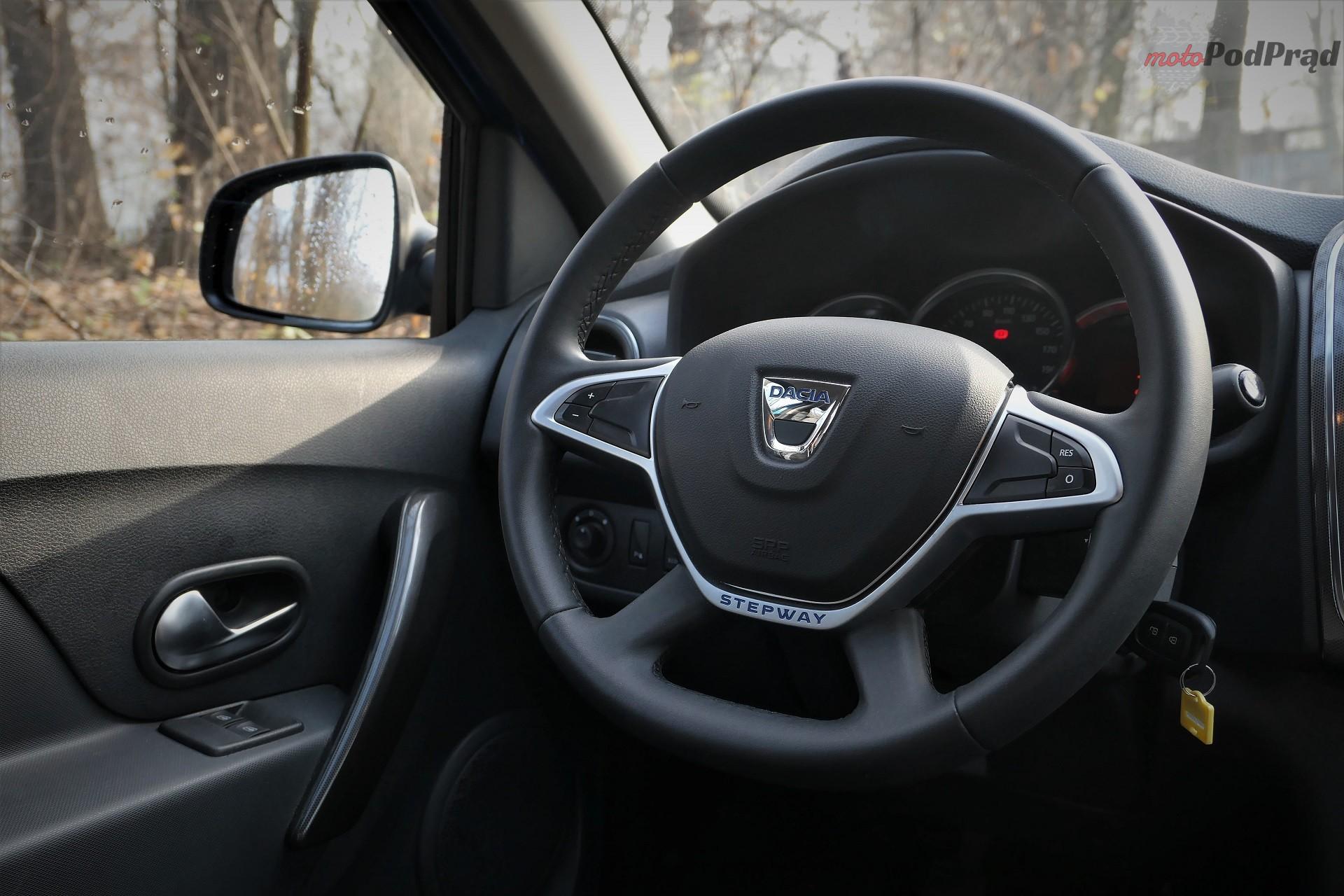 Dacia Sandero Stepway 11 Test: Dacia Sandero Stepway   w prostocie siła