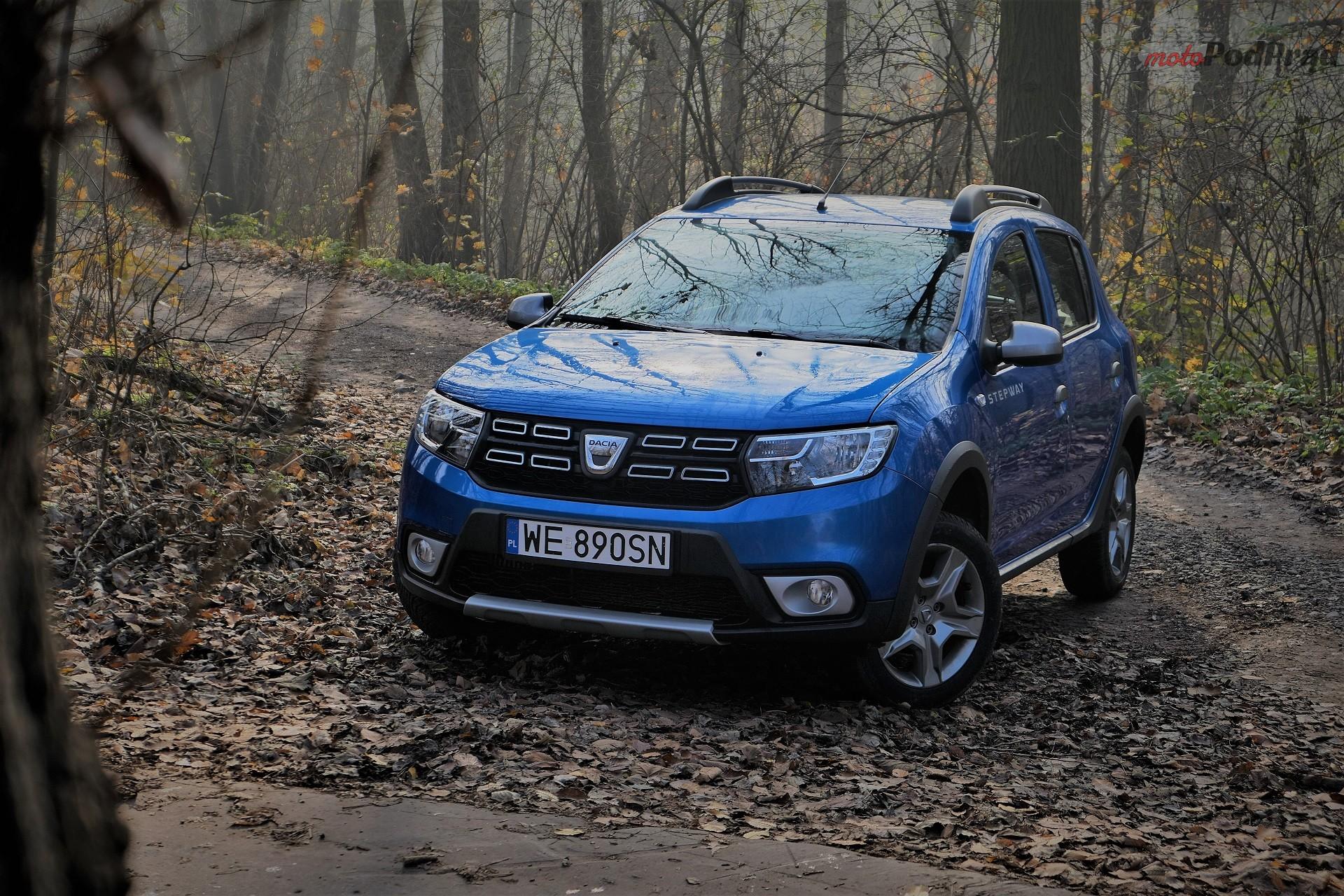 Dacia Sandero Stepway 15 Test: Dacia Sandero Stepway   w prostocie siła