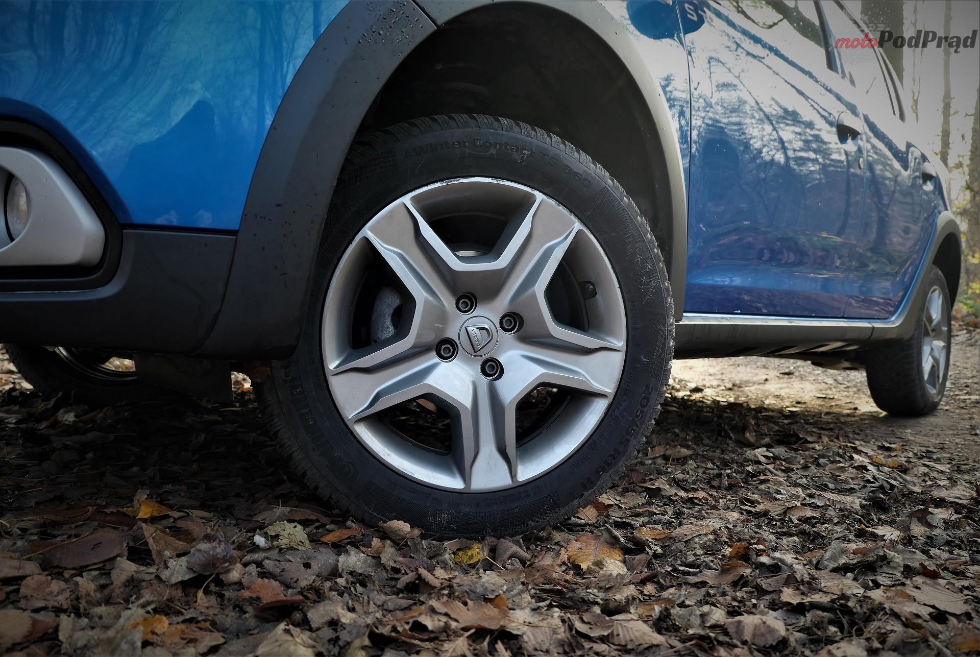 Dacia Sandero Stepway 17 Test: Dacia Sandero Stepway   w prostocie siła