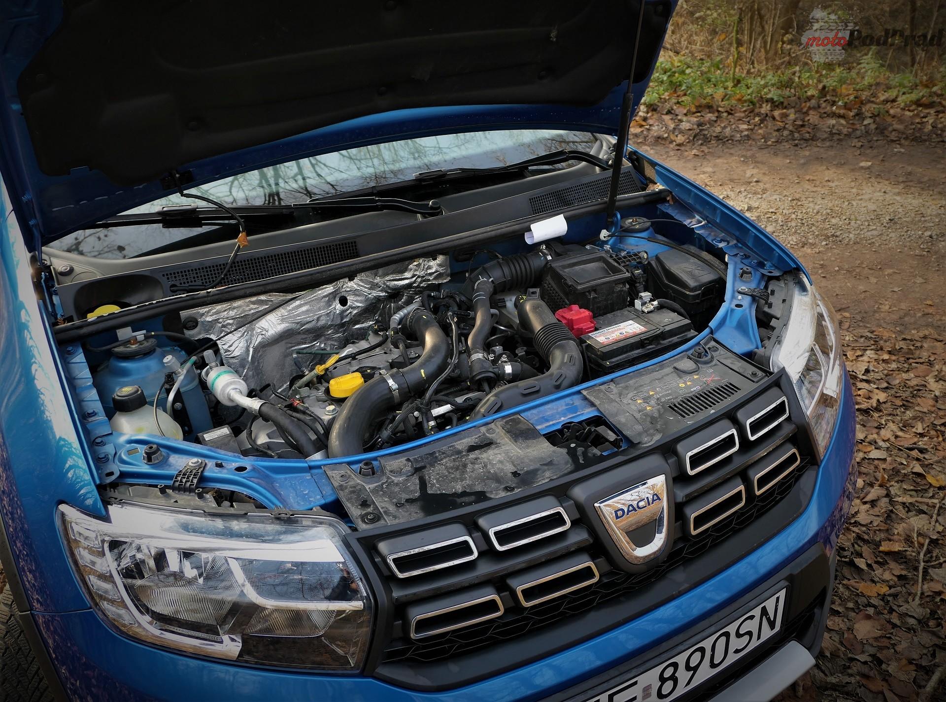 Dacia Sandero Stepway 19 Test: Dacia Sandero Stepway   w prostocie siła