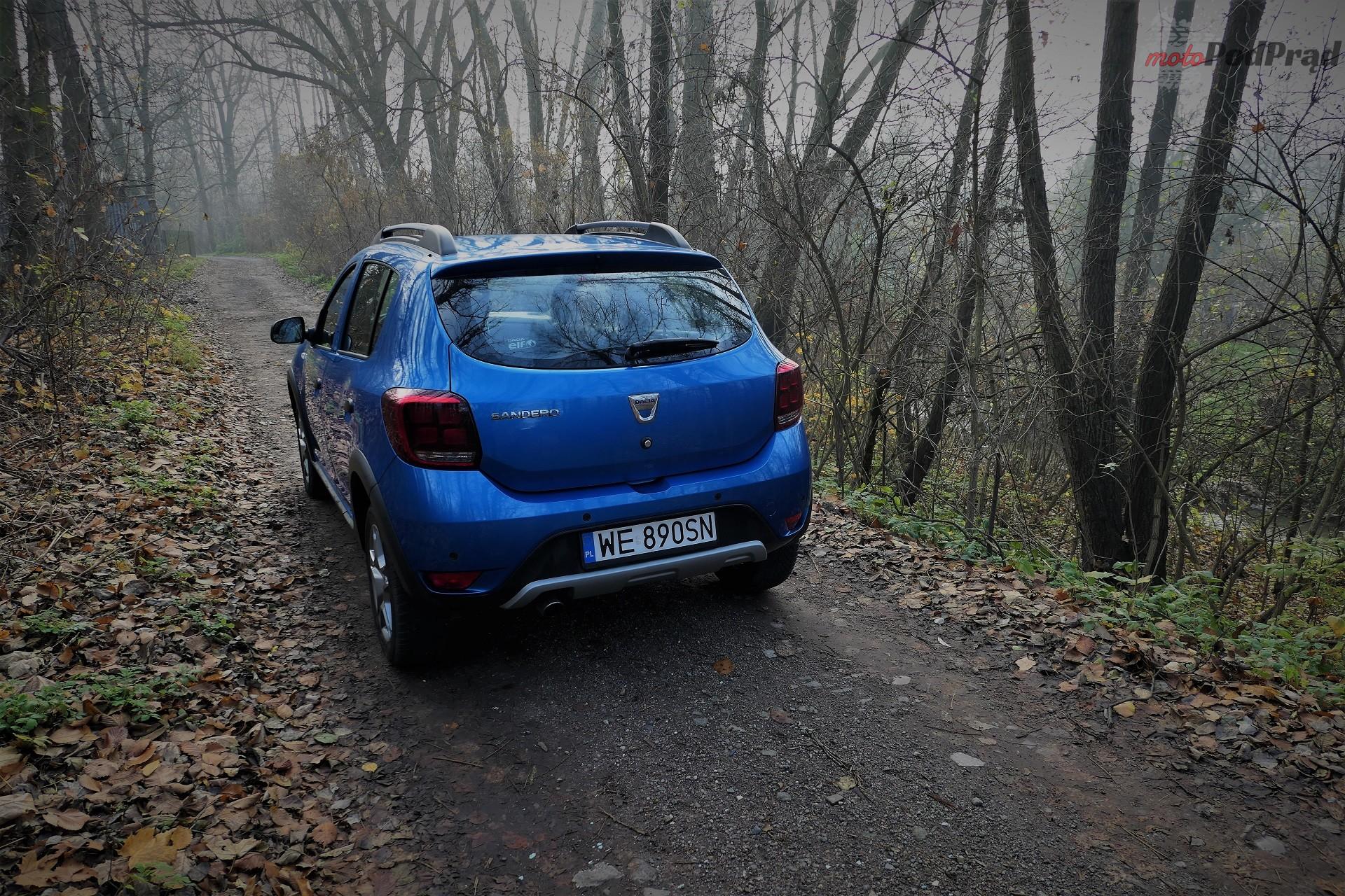 Dacia Sandero Stepway 29 Test: Dacia Sandero Stepway   w prostocie siła