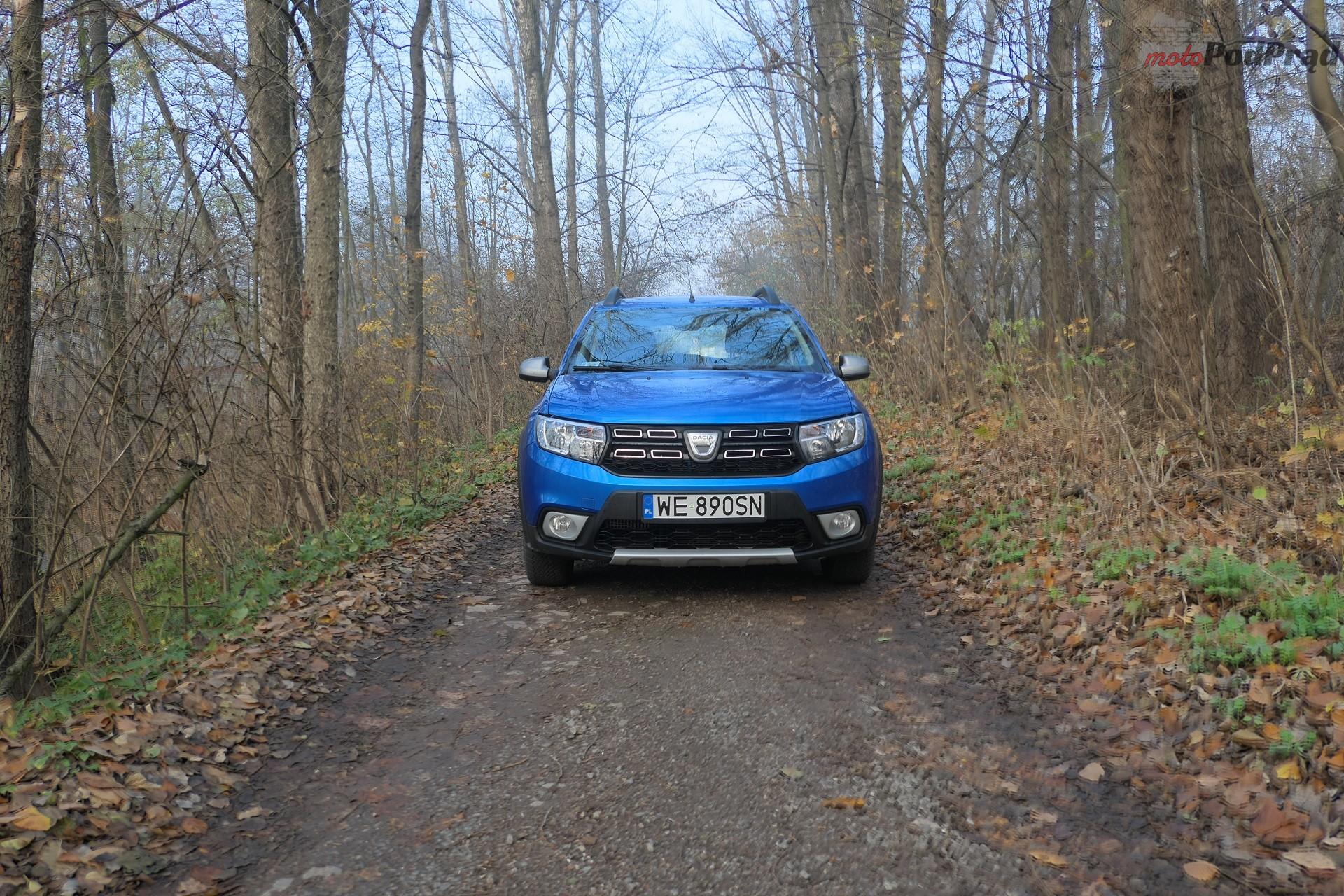 Dacia Sandero Stepway 4 Test: Dacia Sandero Stepway   w prostocie siła